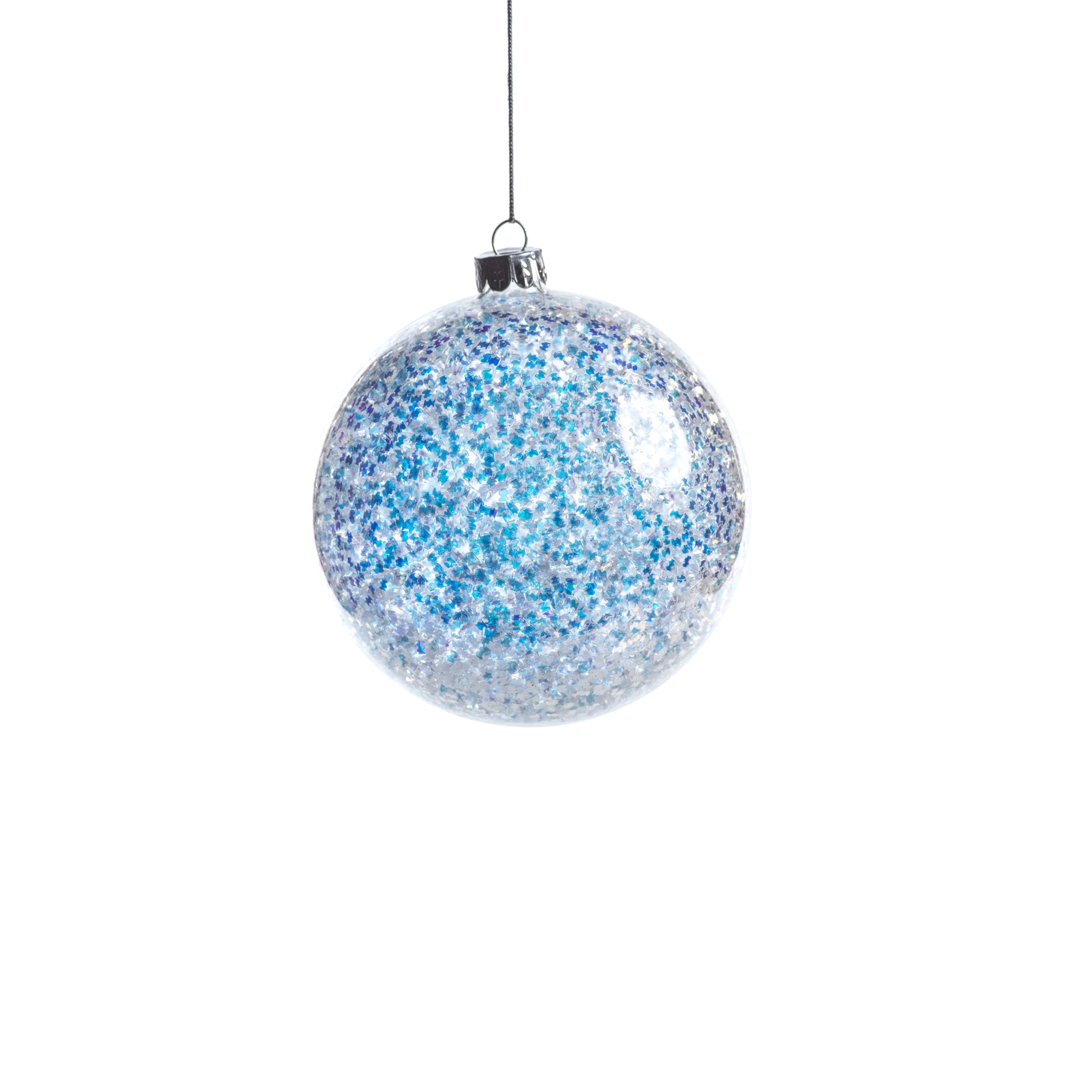 Silver Sequin Ornament