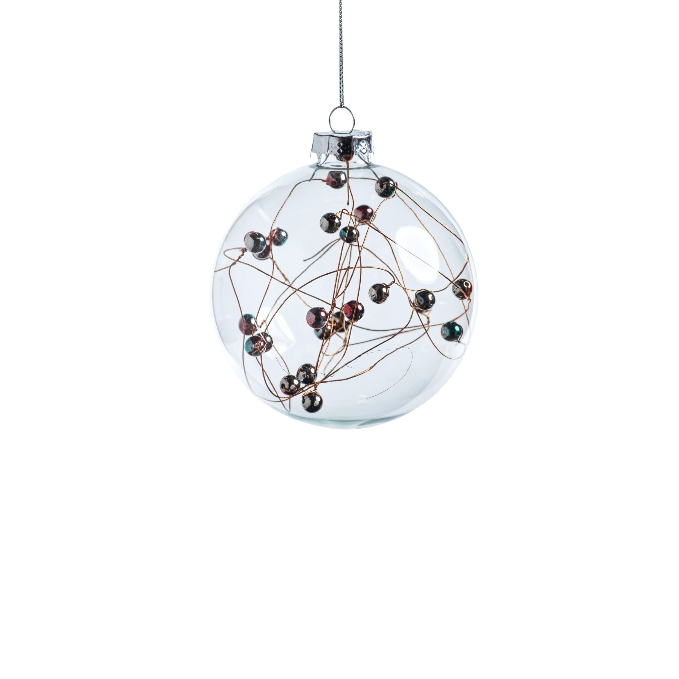 Multicolor Beaded Ornament - CARLYLE AVENUE