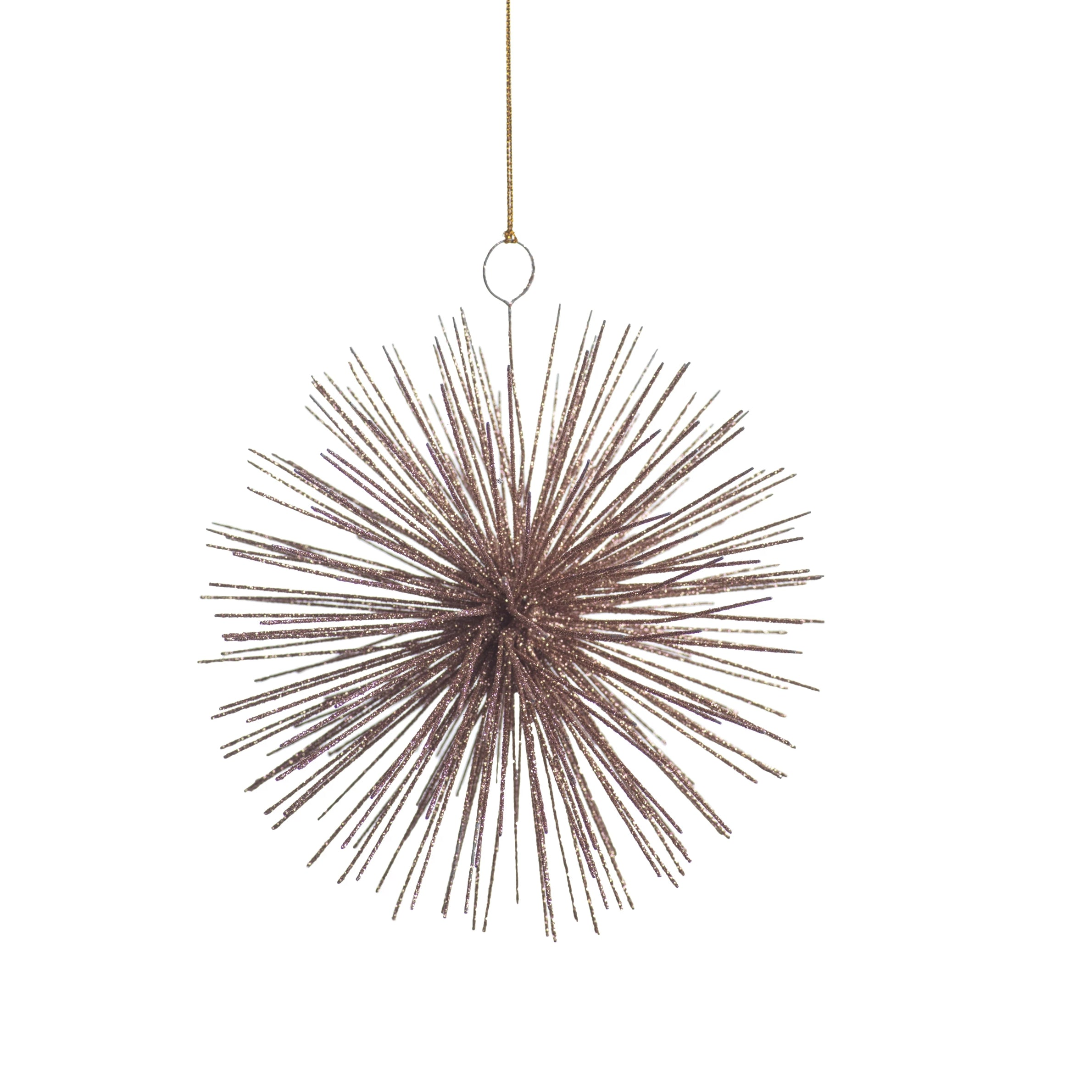 Wire Star Burst Ornament - Rose Gold - CARLYLE AVENUE
