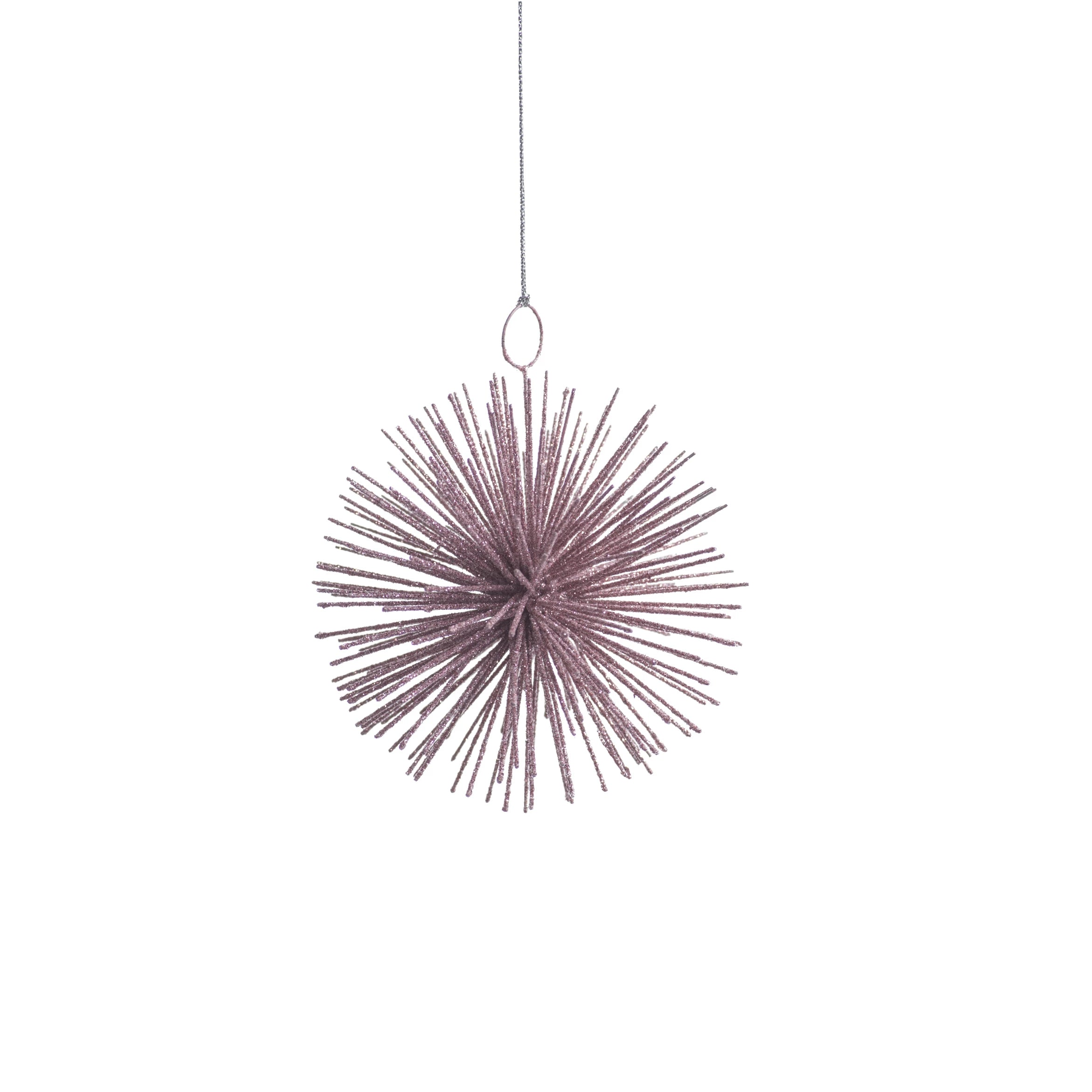 Wire Star Burst Ornament - Pink - CARLYLE AVENUE