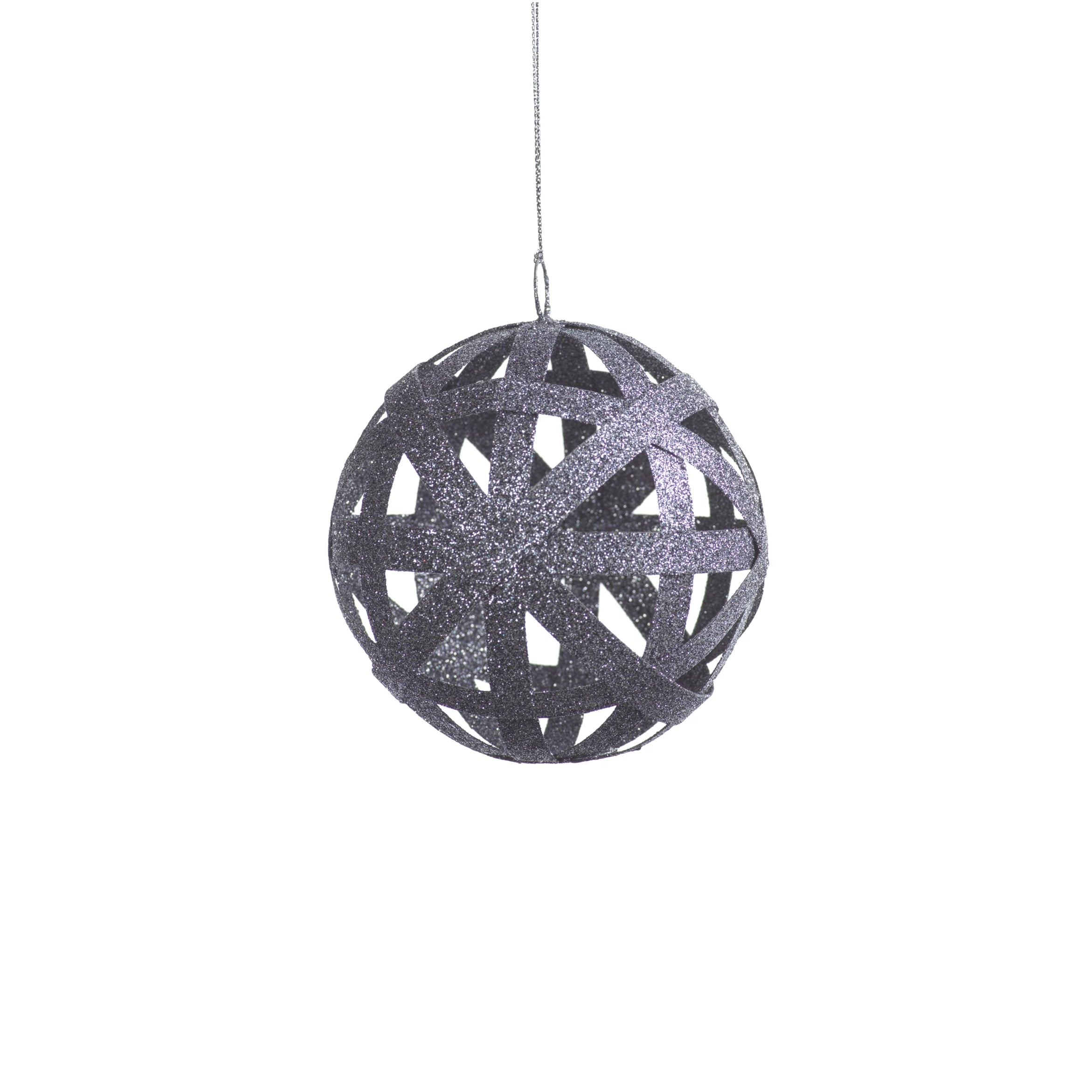 Flat Pattern Ball Ornament - 5 Colors - CARLYLE AVENUE