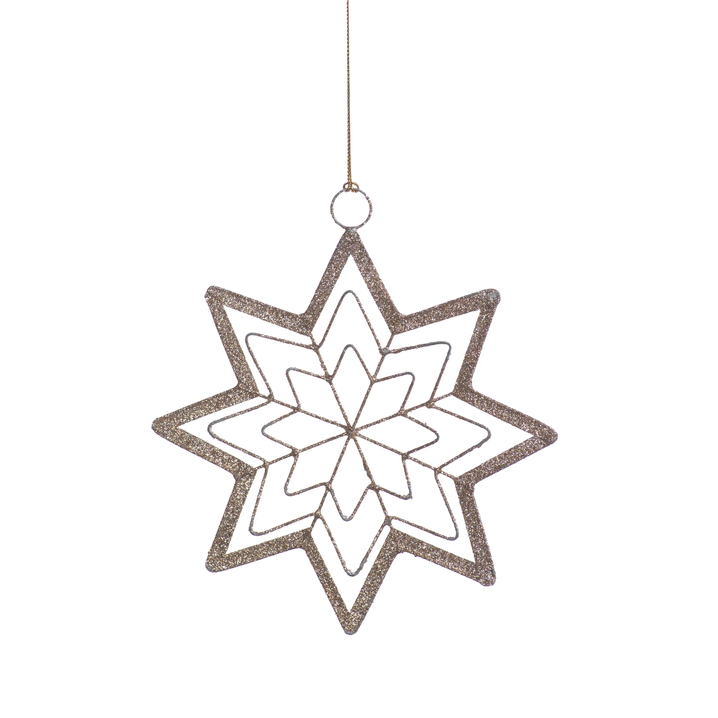 8-Point Star Ornament - 5 Colors - CARLYLE AVENUE
