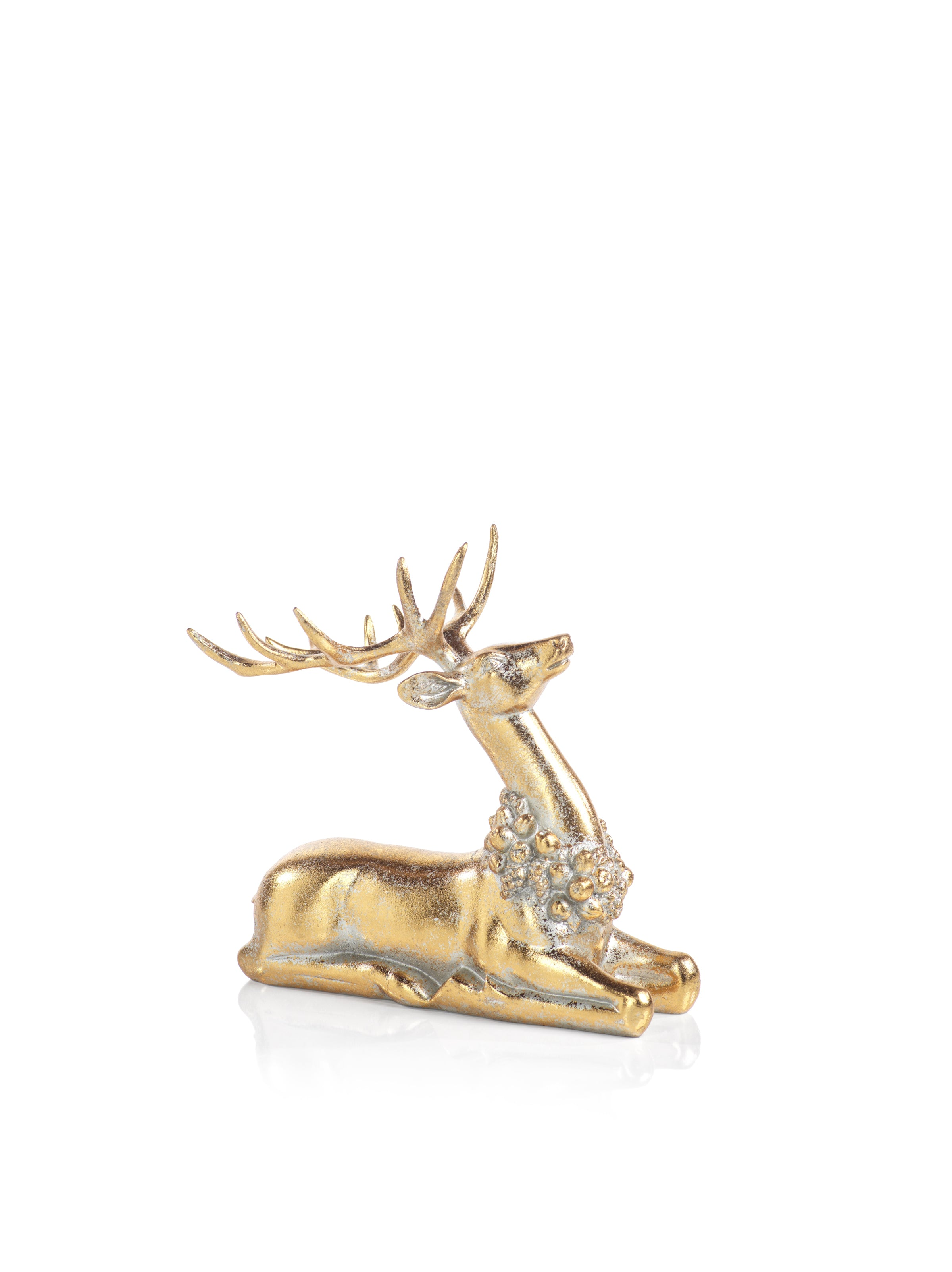 Large Deer with Ornamental Wreath - CARLYLE AVENUE