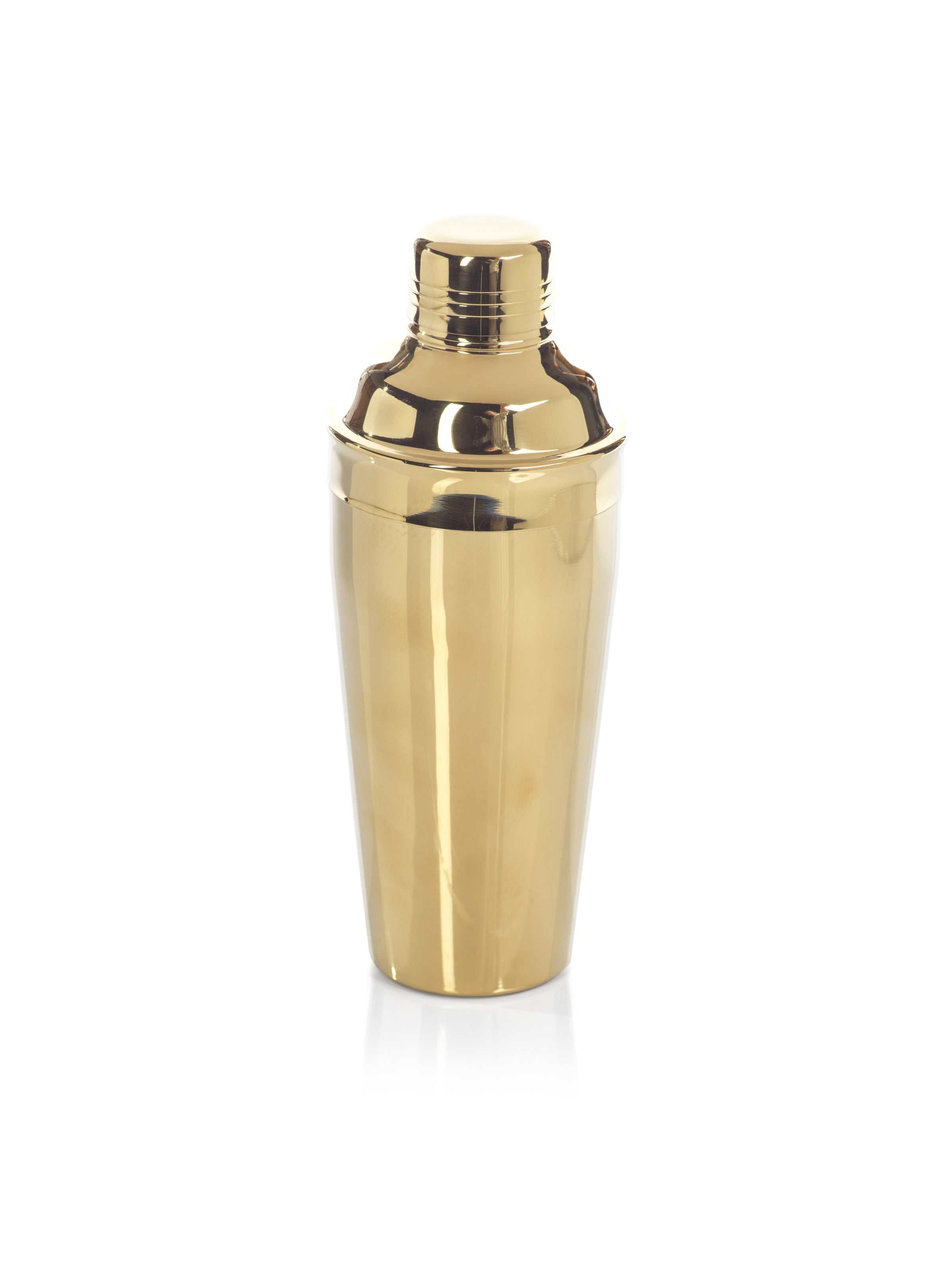 Stainless Steel Gold Cocktail Shaker - CARLYLE AVENUE