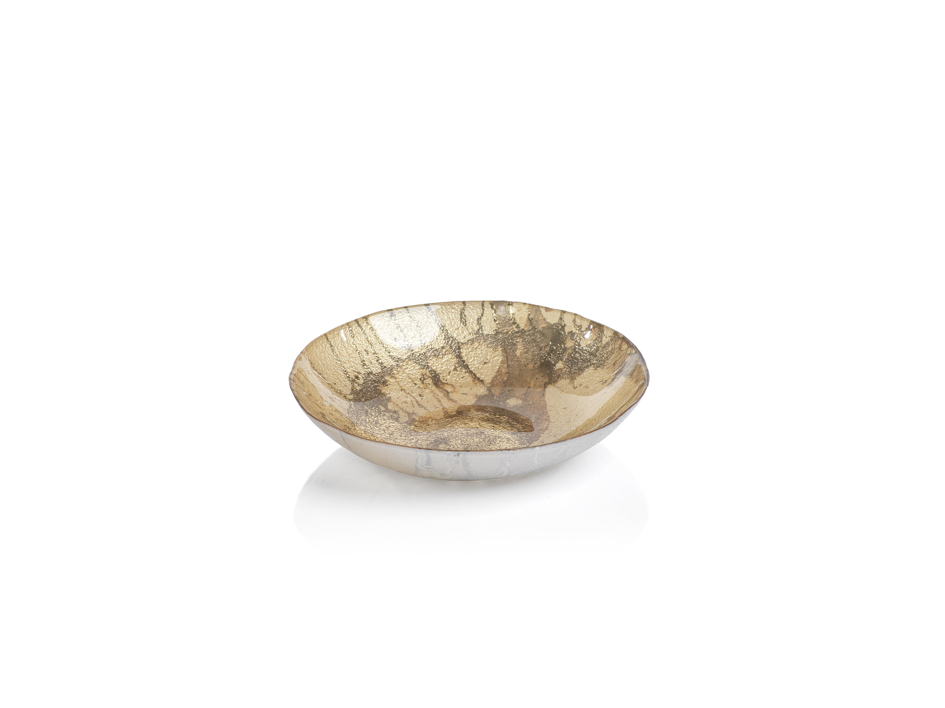 Golden Pearl Metallic Watercolor Bowls