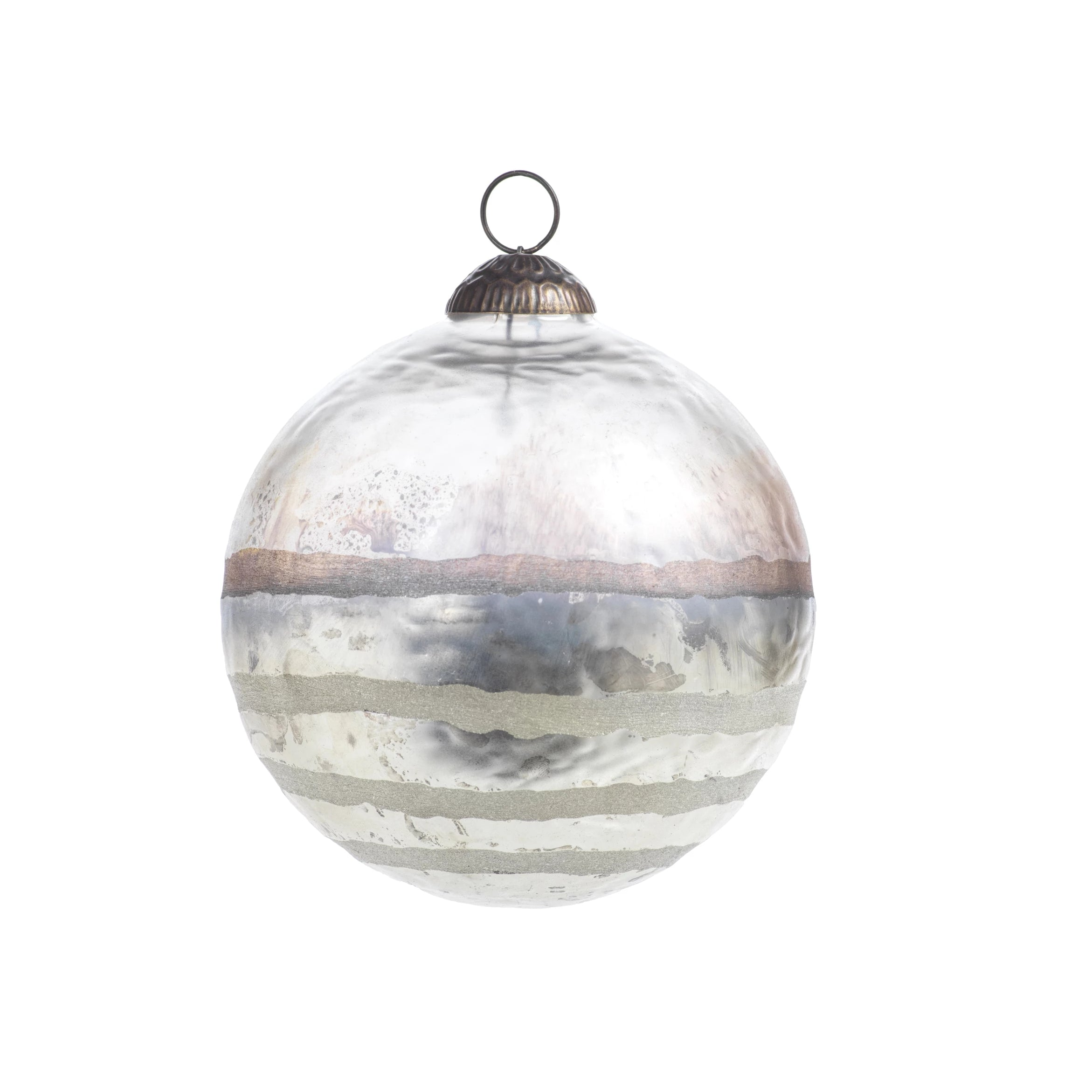 Smoked Ball Ornament - CARLYLE AVENUE