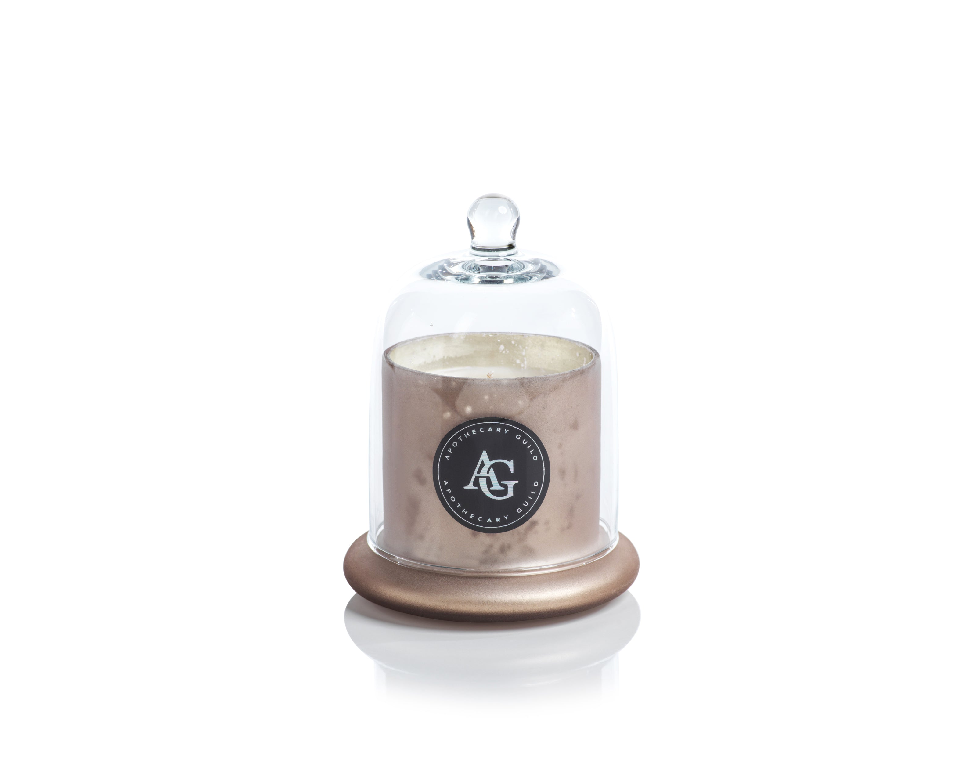 Apothecary Guild Frosted Candle Jar w/Dome - CARLYLE AVENUE