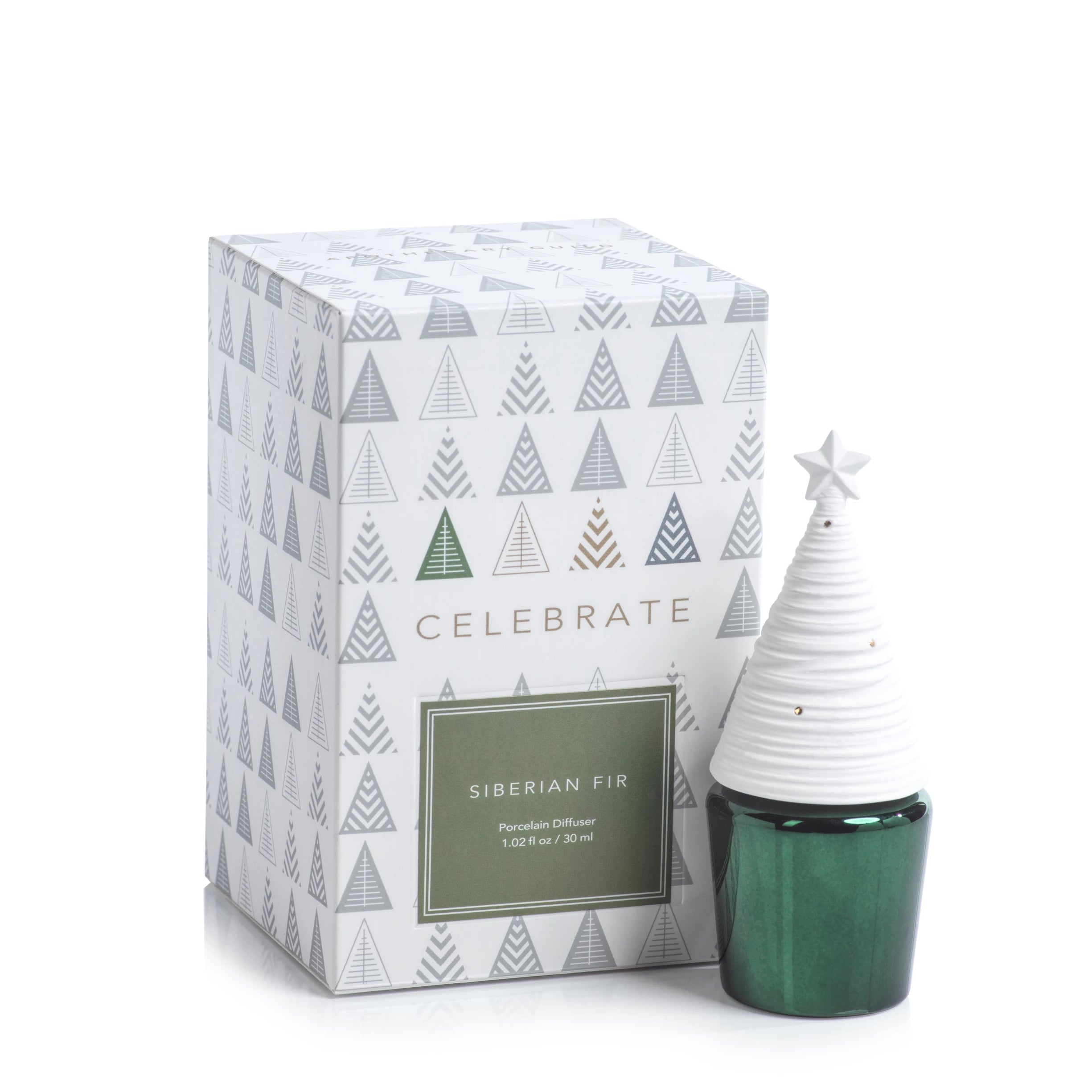 Celebrate Mini Tree Diffuser - Siberian Fir - CARLYLE AVENUE