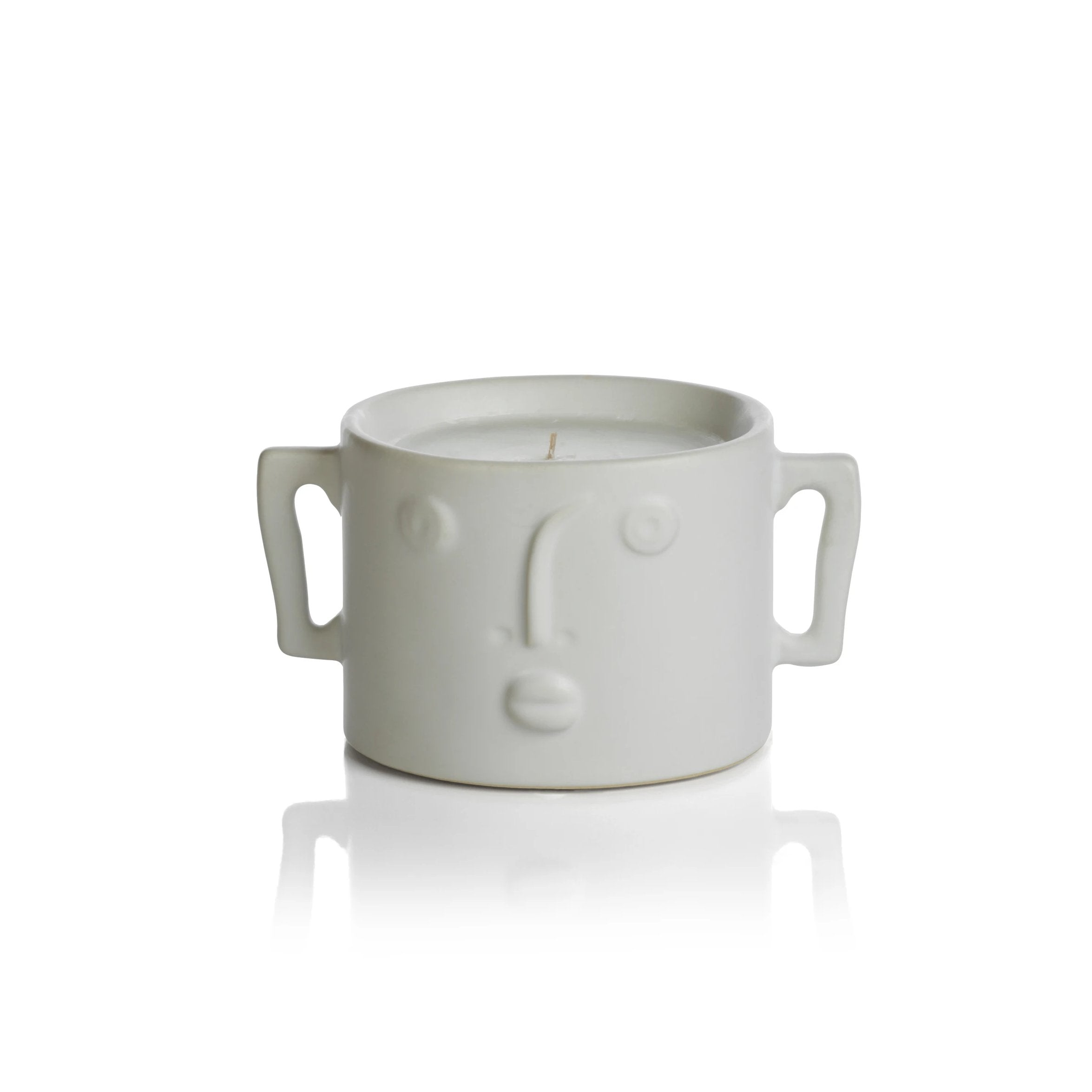 Nala Candle - White - CARLYLE AVENUE