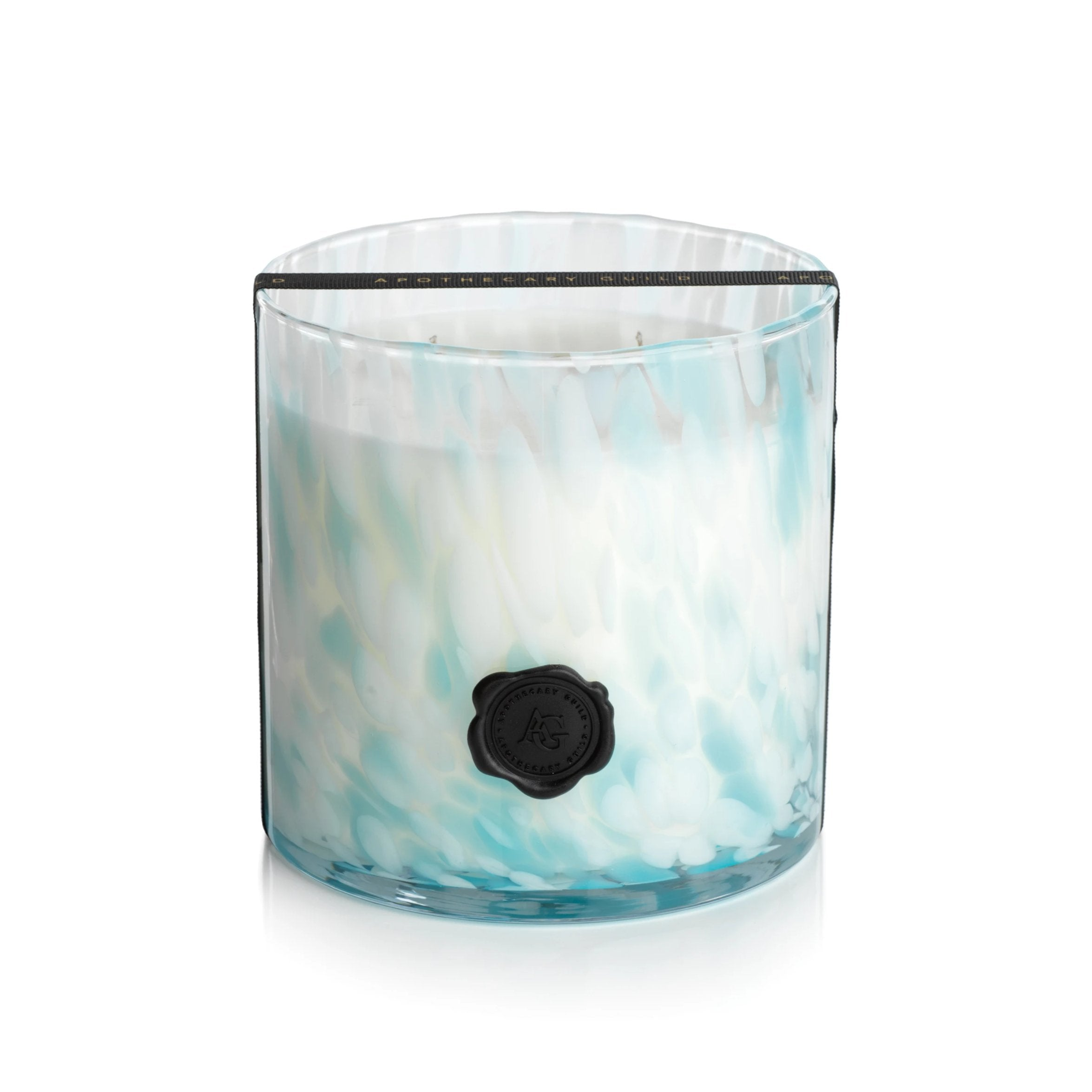 Apothecary Guild Opal Glass Three-Wick Candle - CARLYLE AVENUE