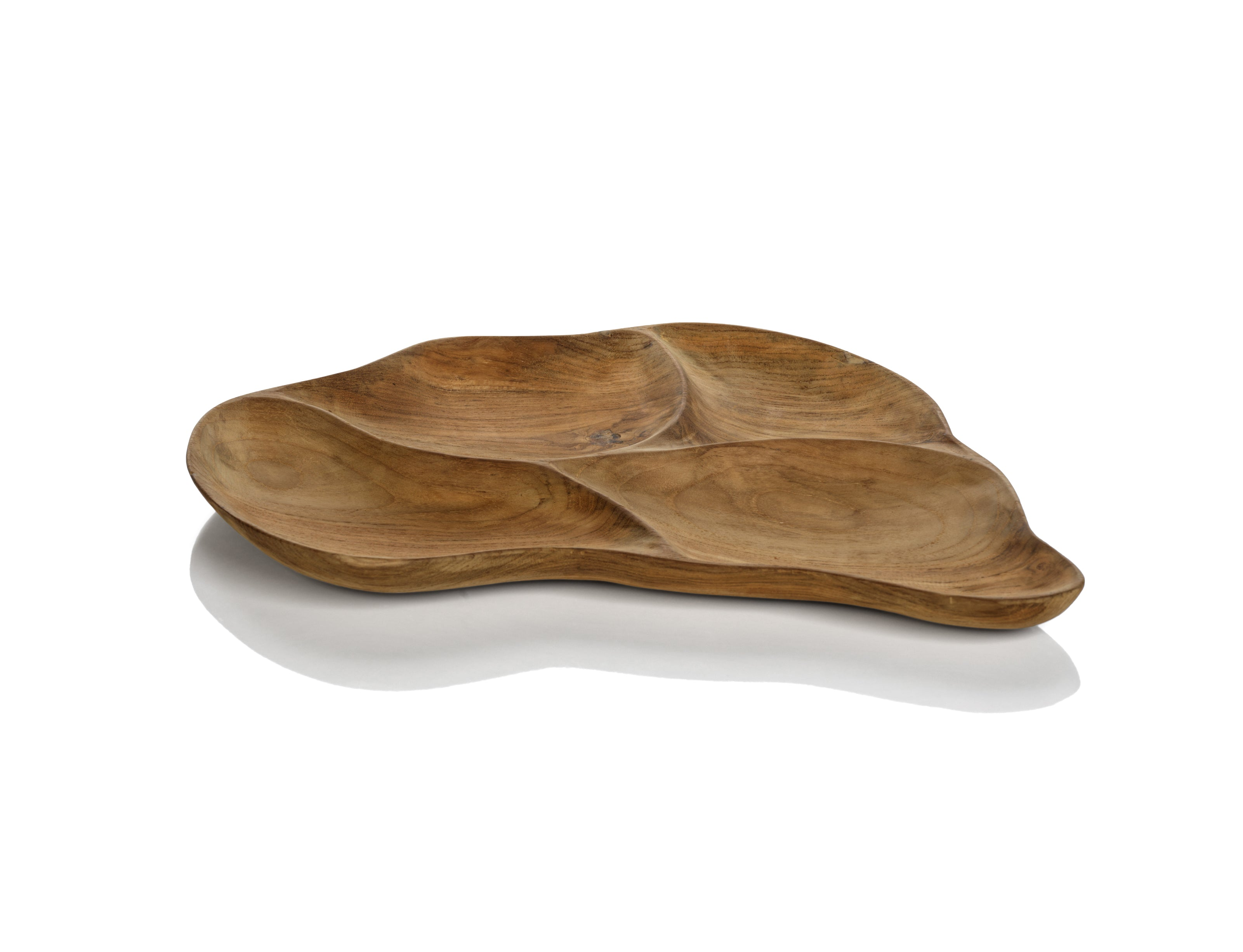 Santos Wood Condiment Tray - CARLYLE AVENUE