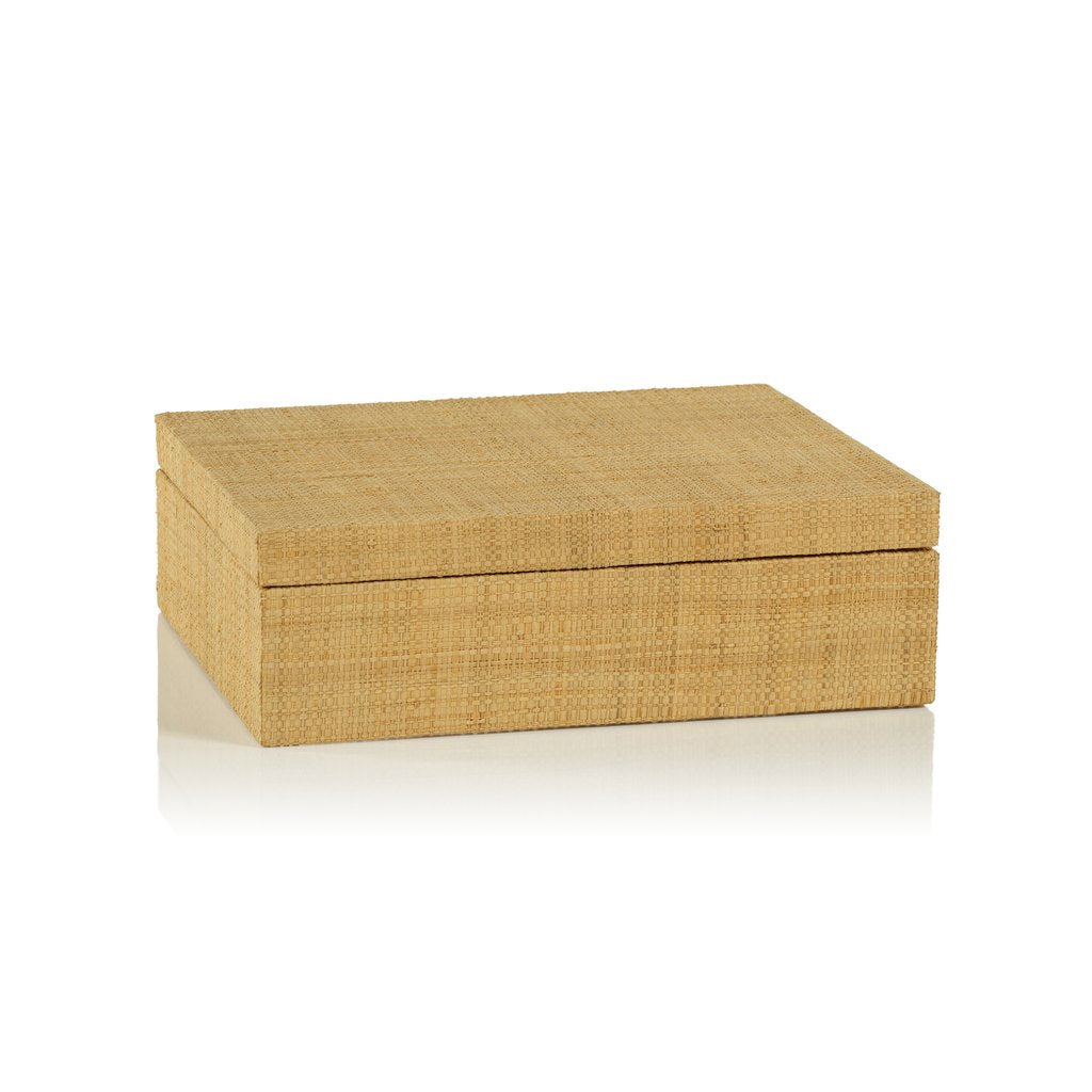 Bungalow Grasscloth Box