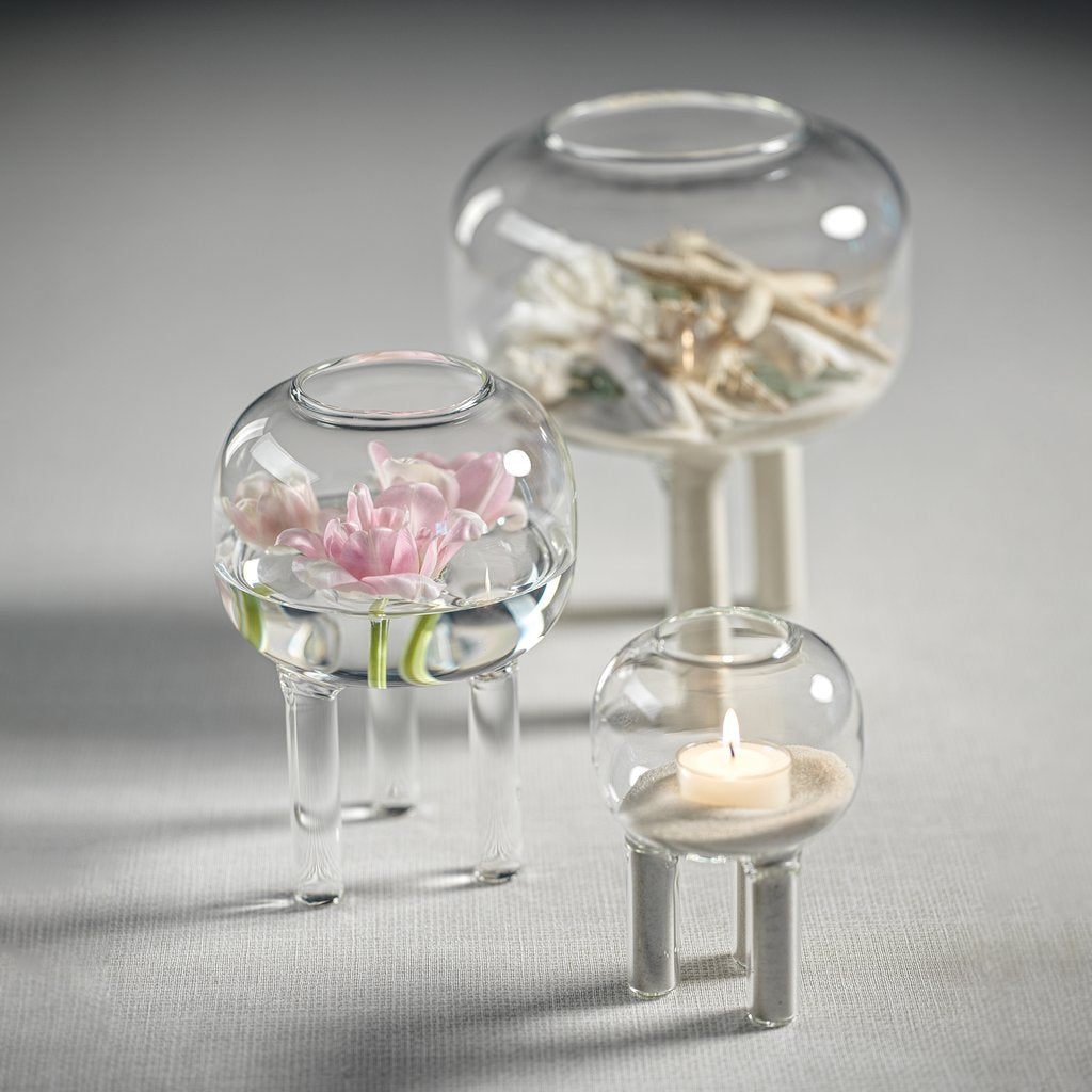 Terrarium Glass Vase on Three Legs