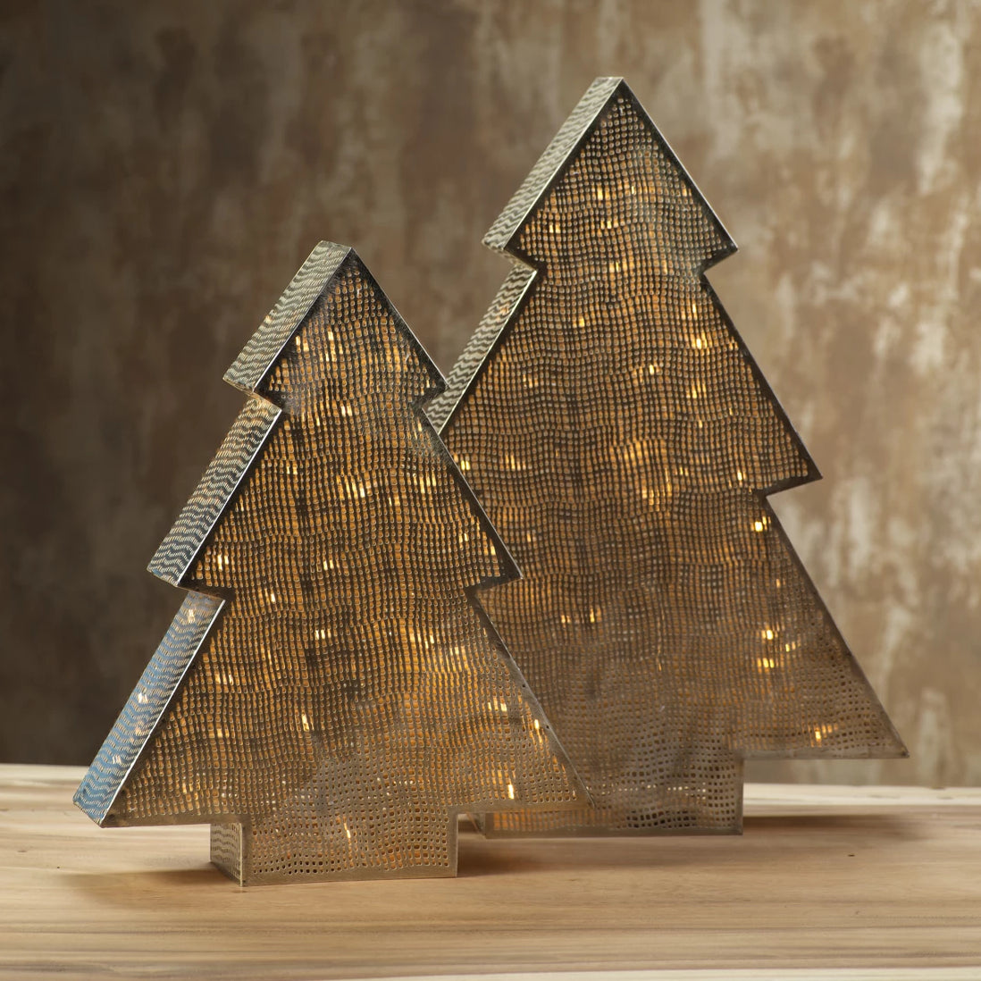 LED Tabletop Metal Tree Lamp