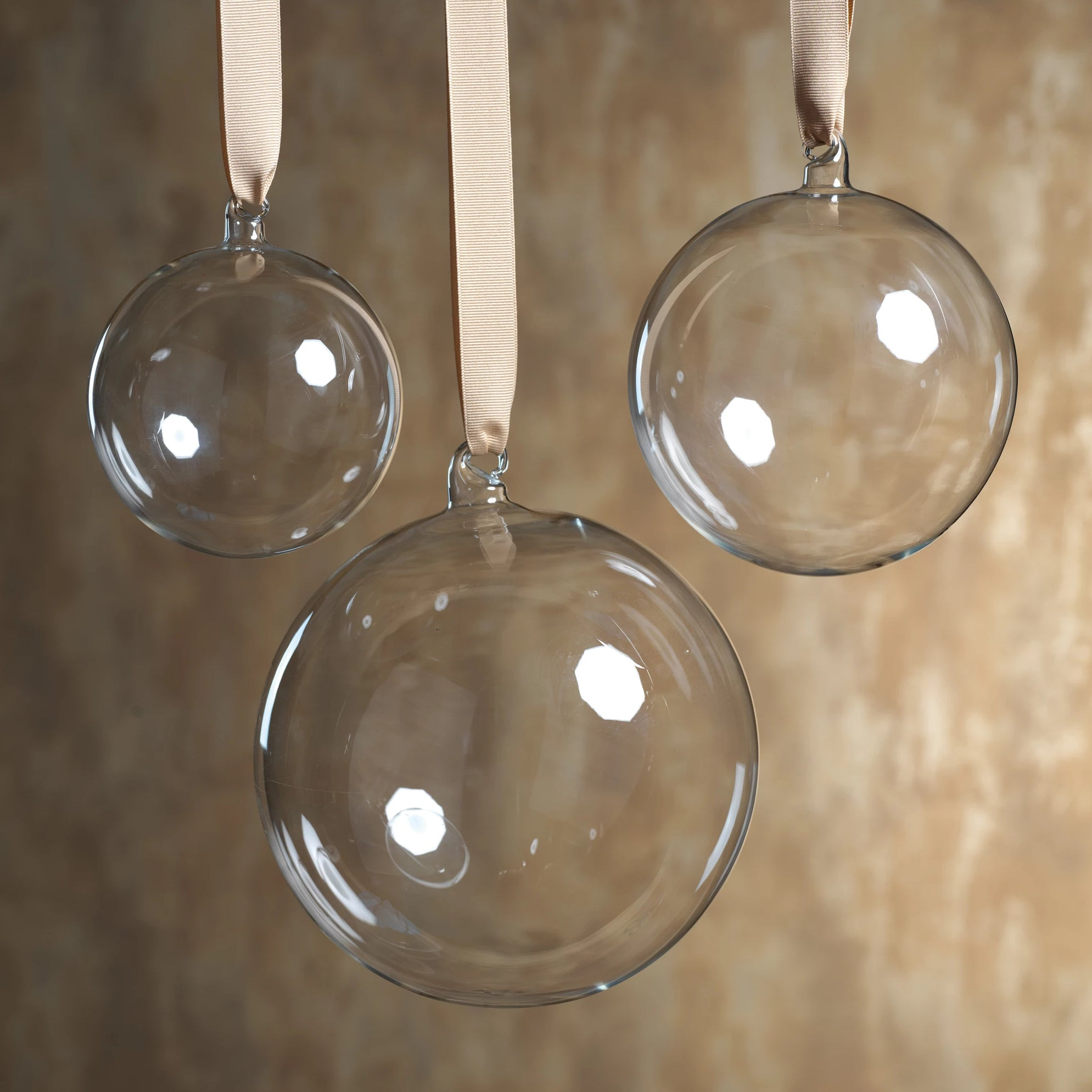 Clear Ball Ornament - CARLYLE AVENUE