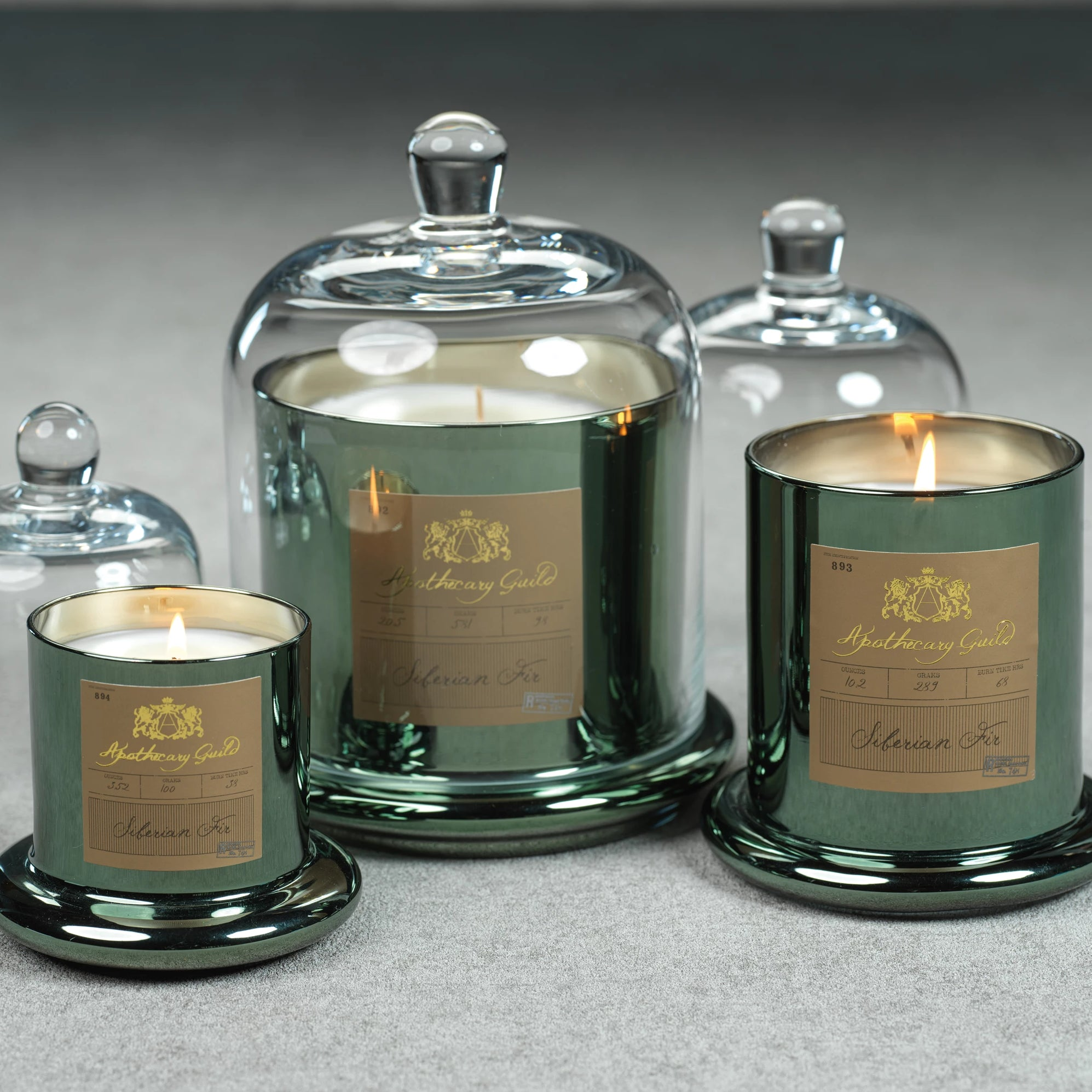 Apothecary Guild Domed Candle - Green - CARLYLE AVENUE