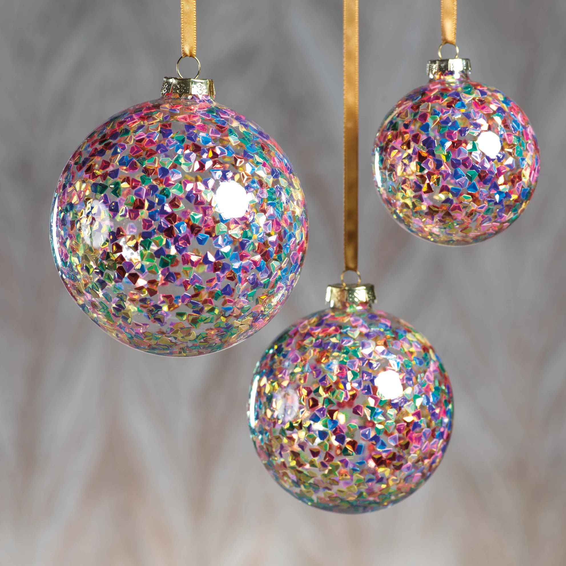Multicolor Sequin Ornament - CARLYLE AVENUE