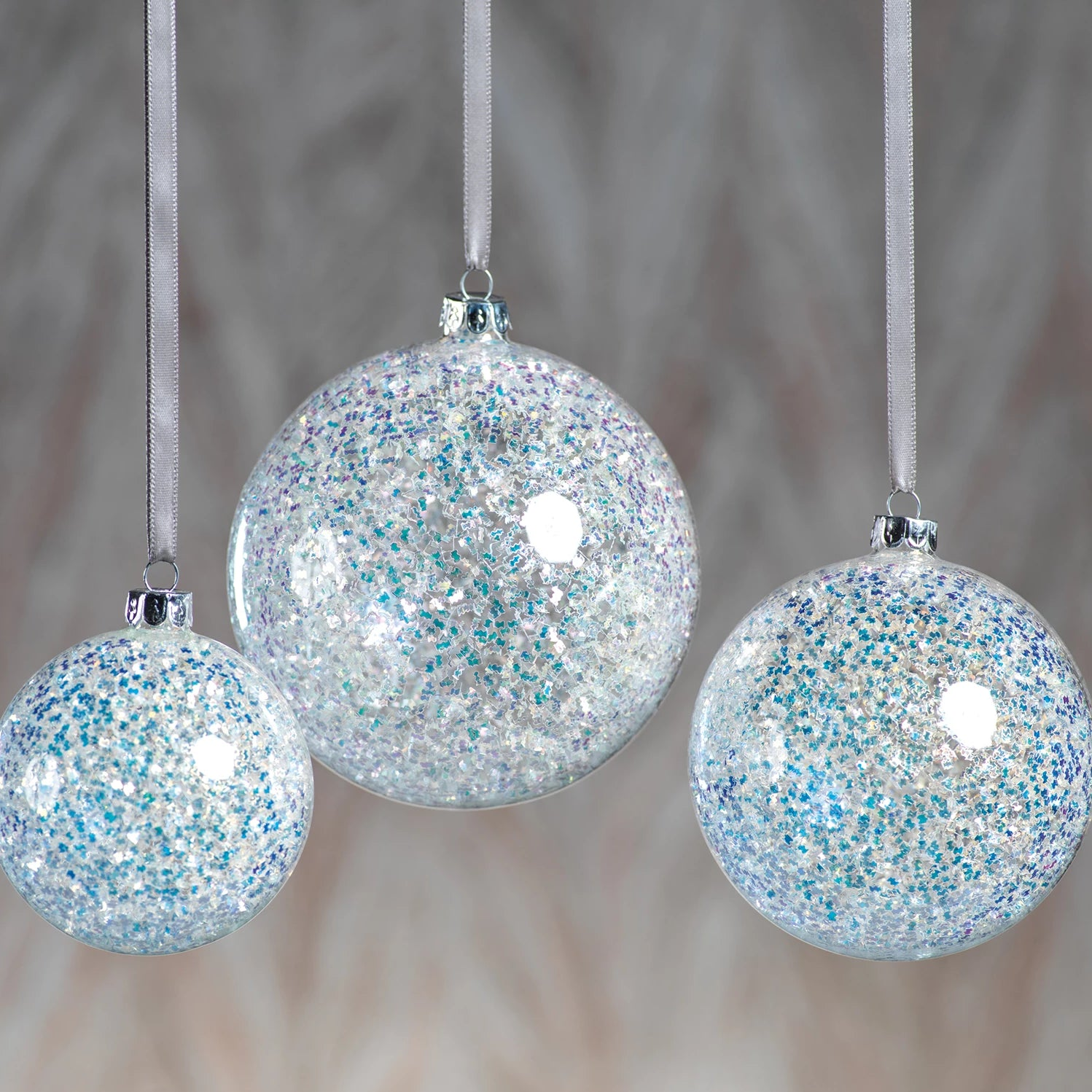 Silver Sequin Ornament - CARLYLE AVENUE