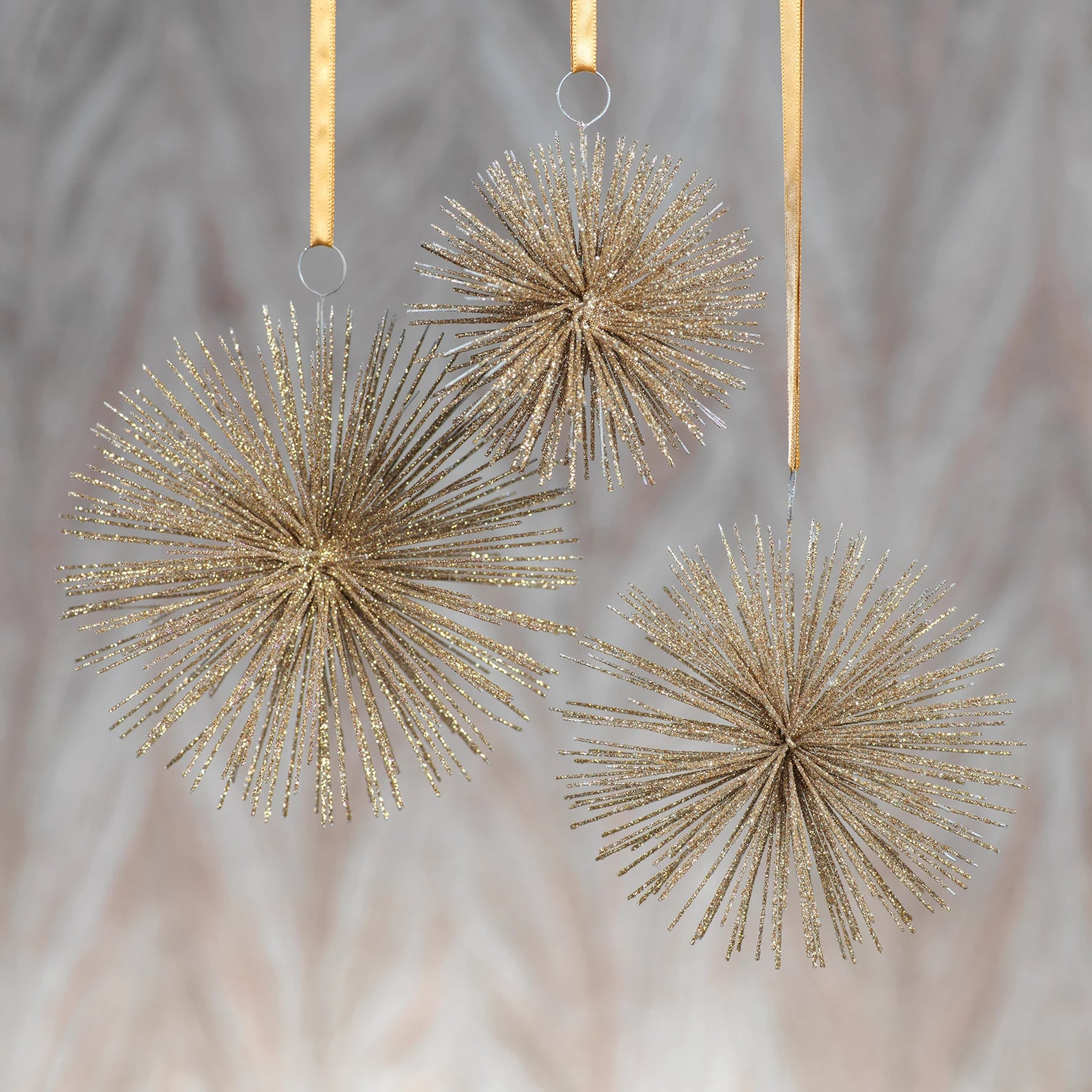 Wire Star Burst Ornament - CARLYLE AVENUE
