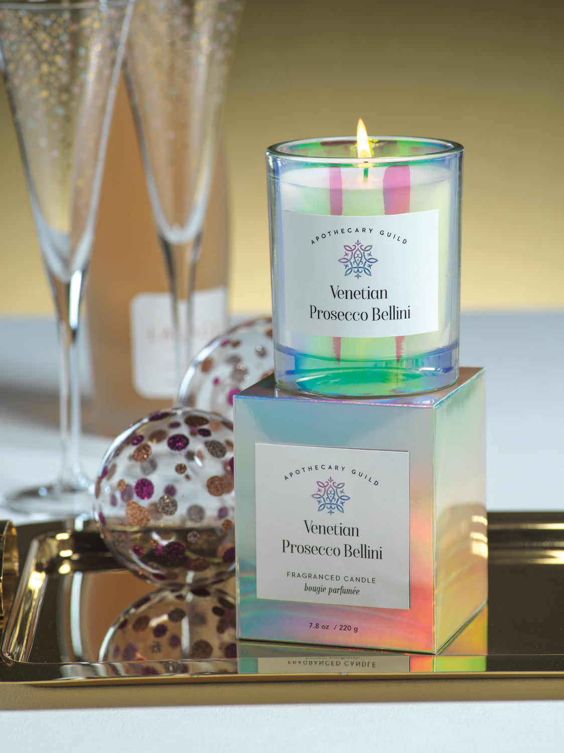 Apothecary Guild Iridescent Candle