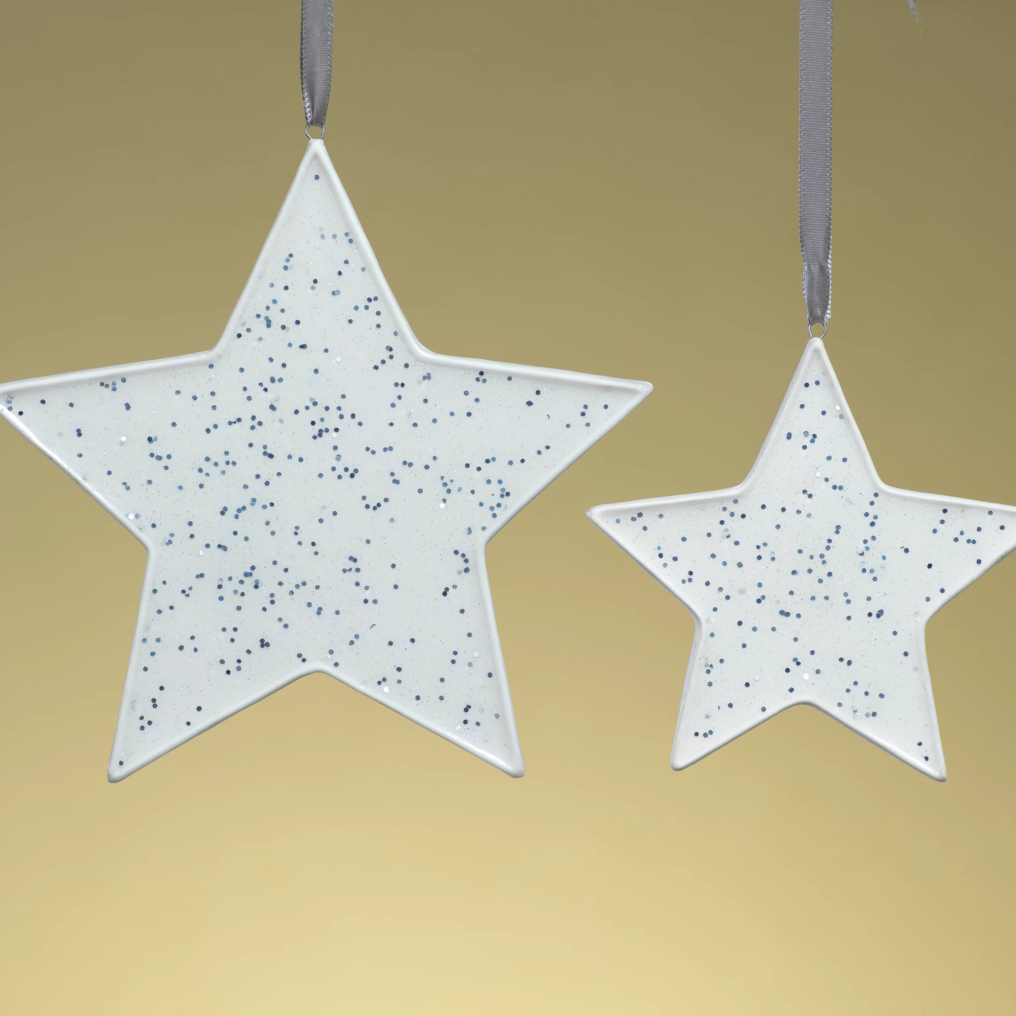 Speckled Star Ornament - Silver - CARLYLE AVENUE