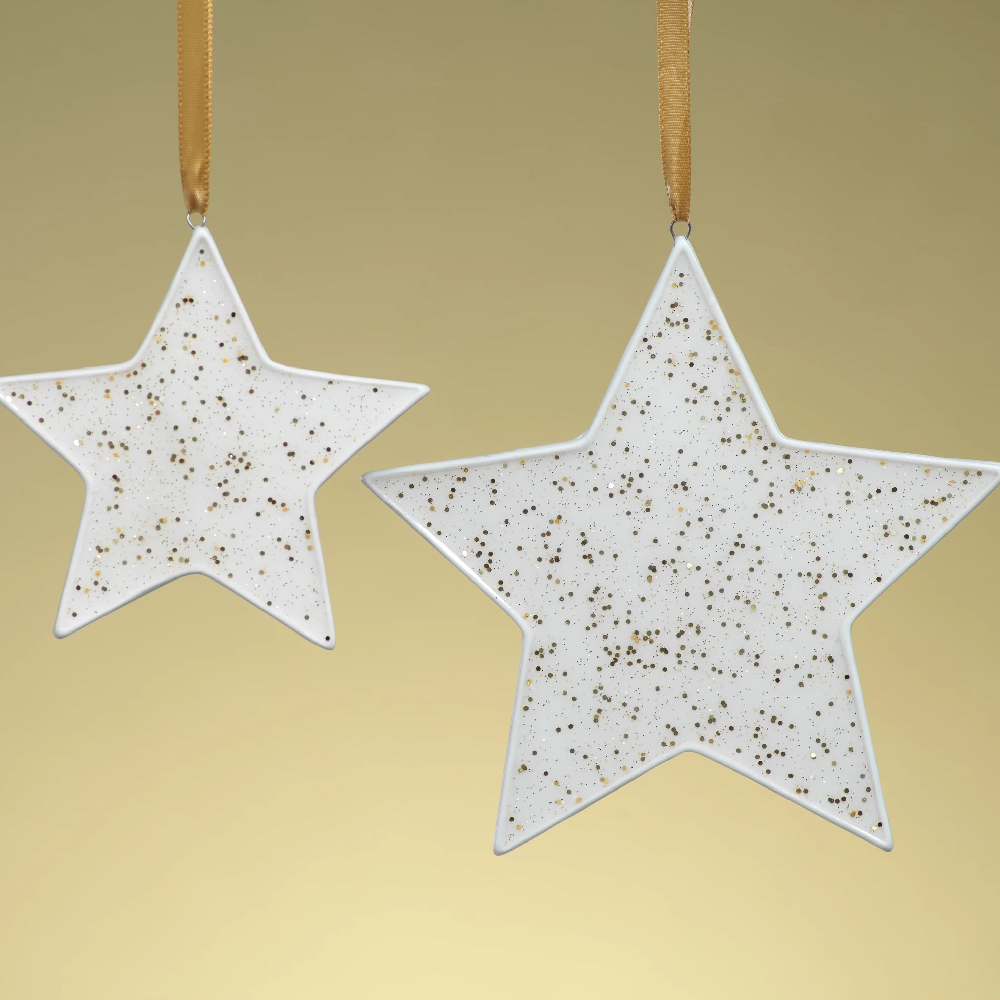 Speckled Star Ornament - Gold - CARLYLE AVENUE