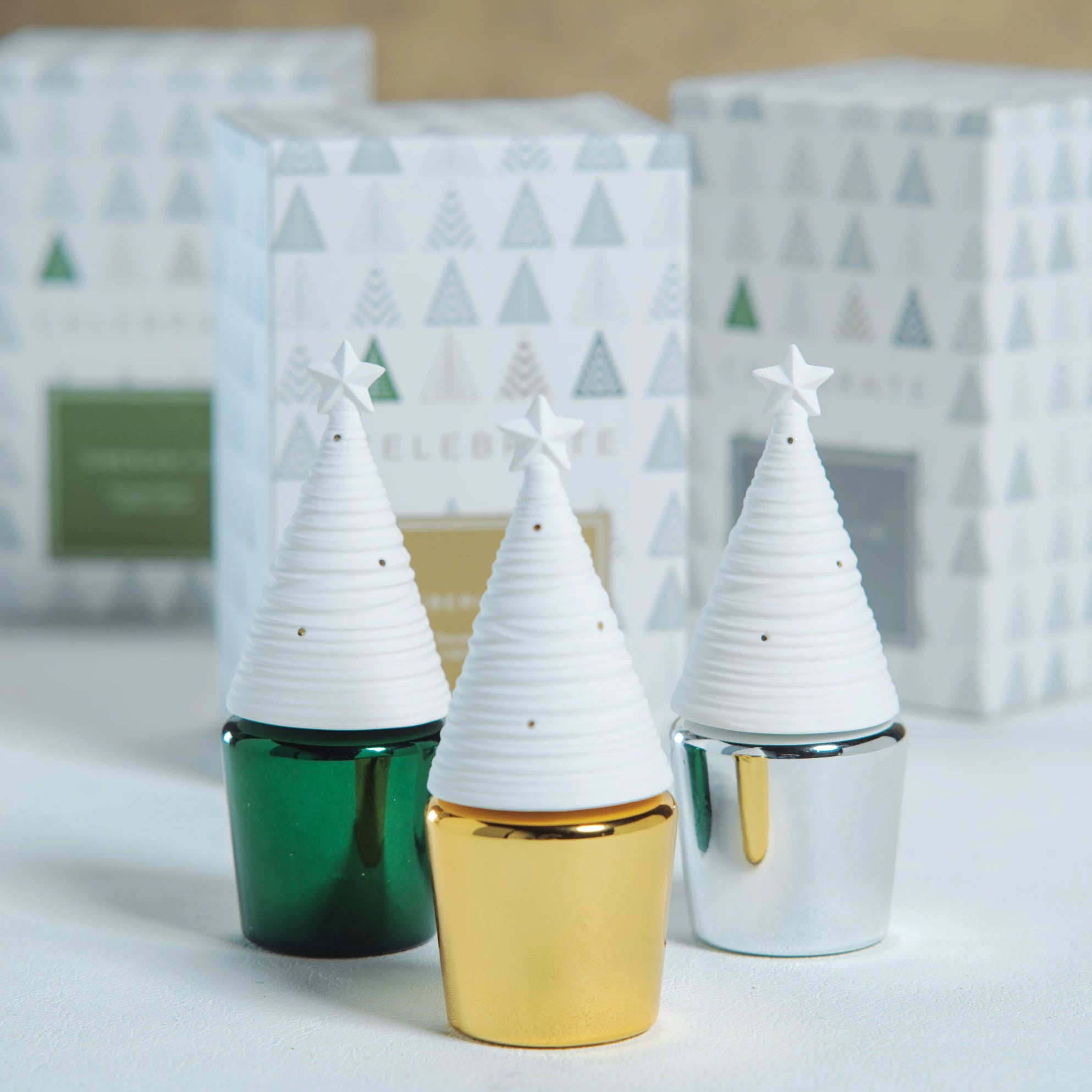 Celebrate Mini Tree Diffuser - Siberian Fir