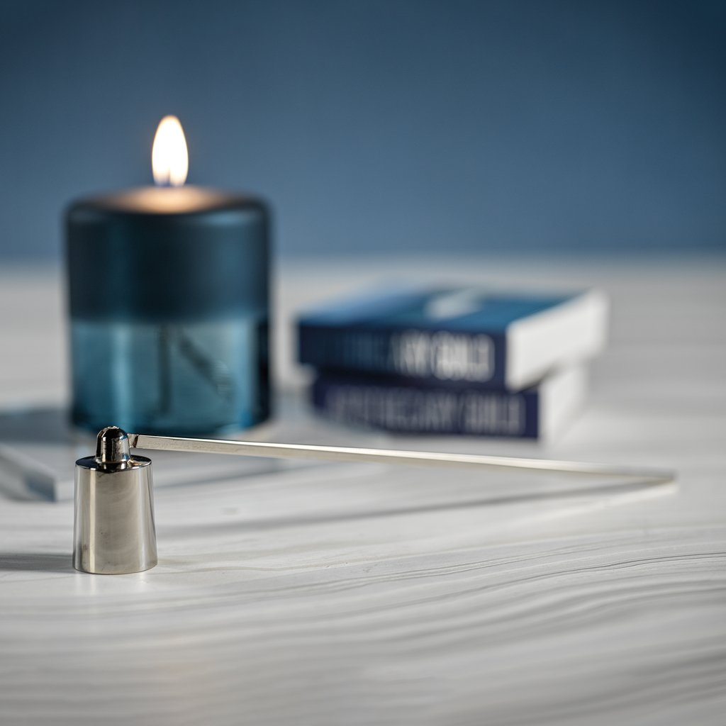 Nickel Brass Candle Snuffer
