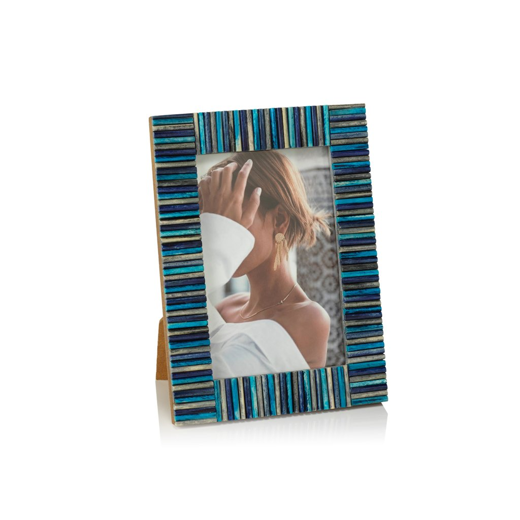 Biarritz Multi-Color Blue Photo Frame