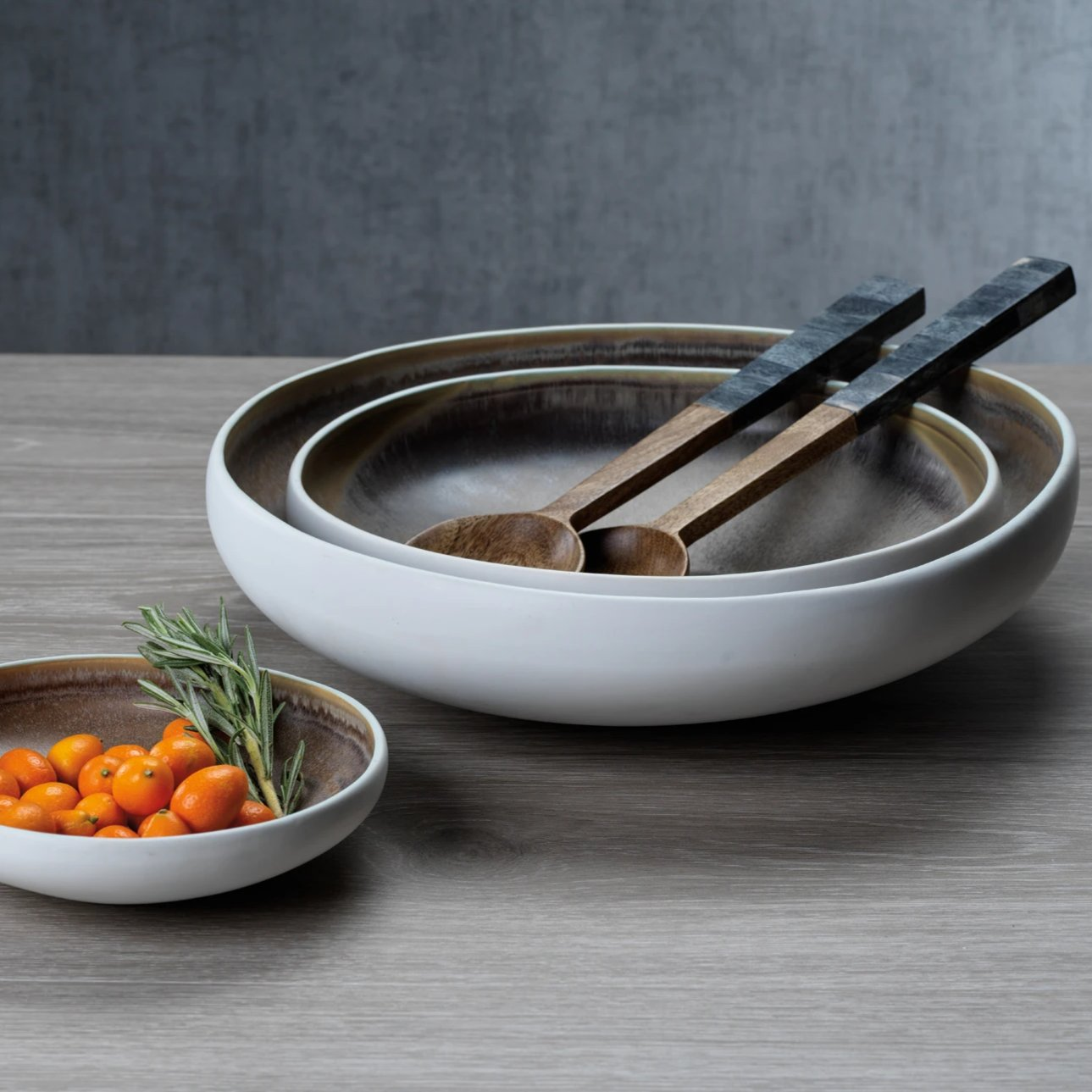 Sahara Ceramic Serving Bowl - CARLYLE AVENUE