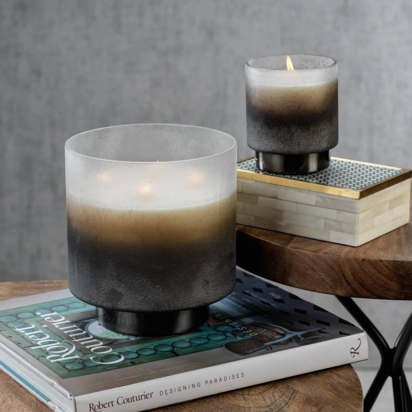 Cortina Scented Candle Jar - Frost - CARLYLE AVENUE