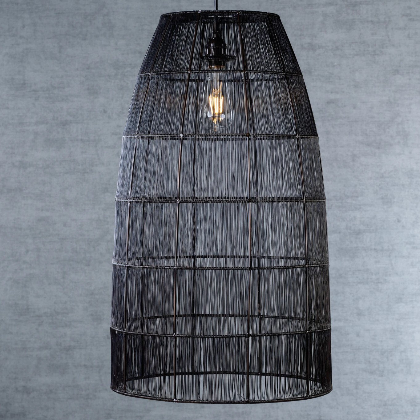 Dakar Metal Wire Pendant Lamp - Large - CARLYLE AVENUE