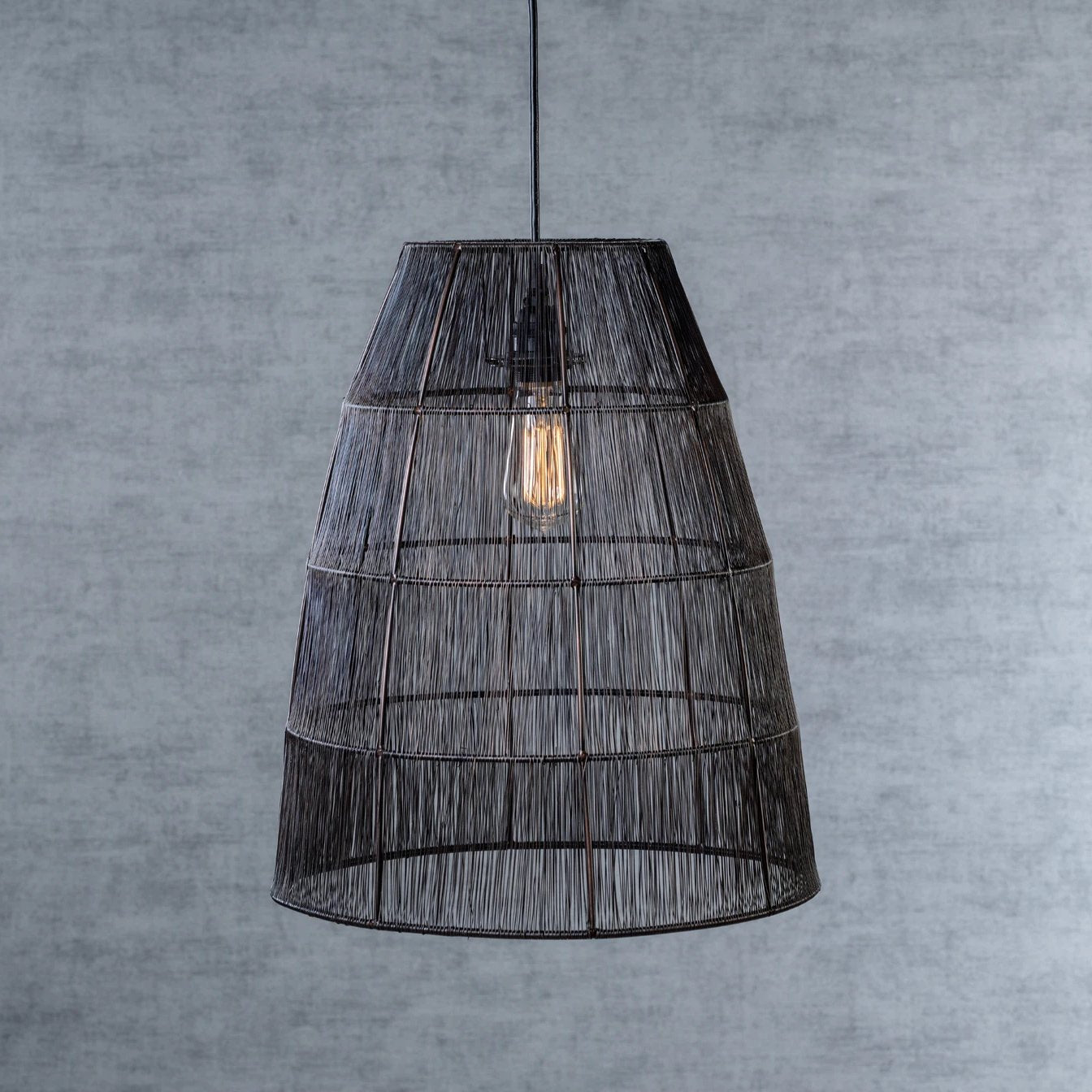 Dakar Metal Wire Pendant Lamp - Small - CARLYLE AVENUE