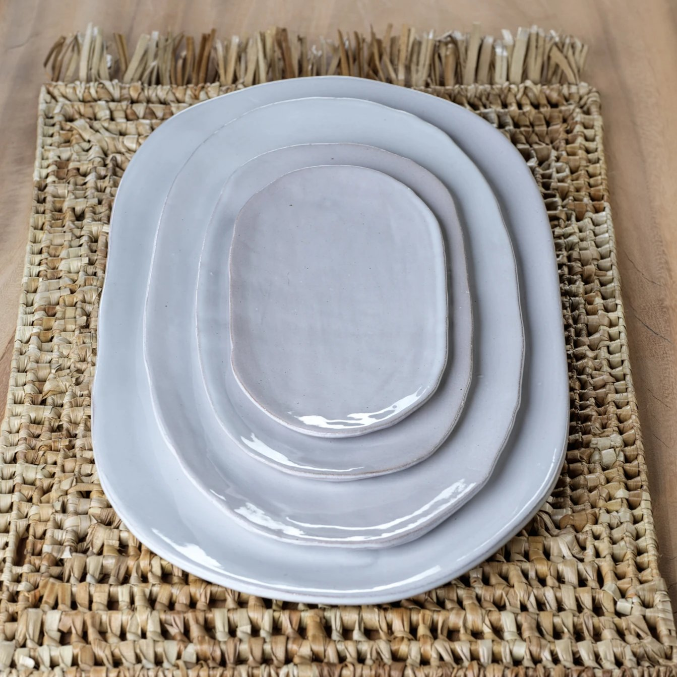 Nok Terracotta Oval Tableware - CARLYLE AVENUE