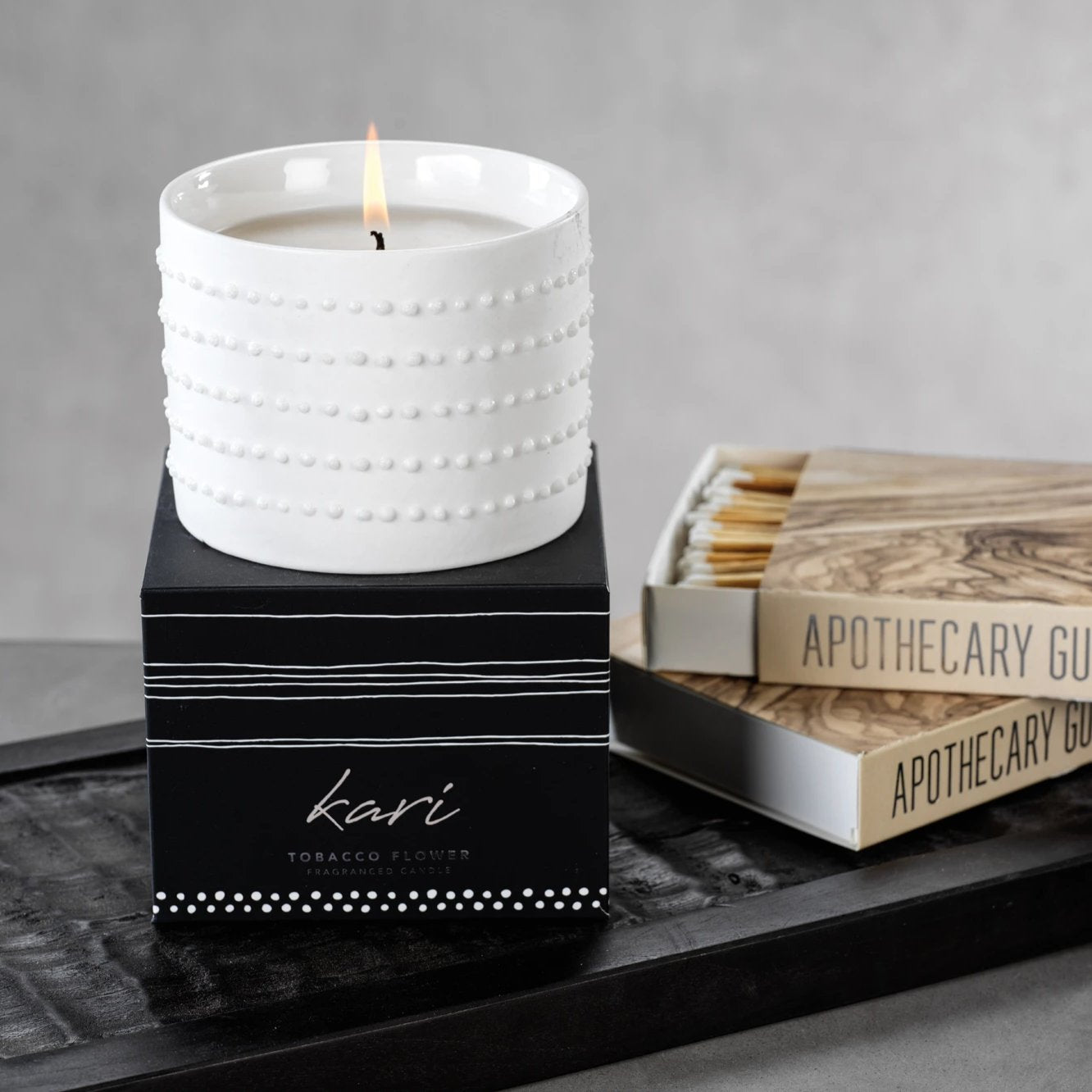 Kari Candle - Tobacco Flower - CARLYLE AVENUE