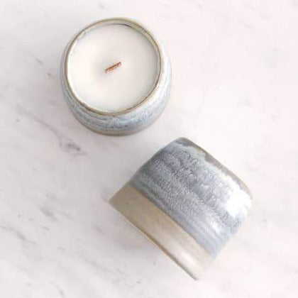 Ceramic Candle - Cannabis & Agarwood