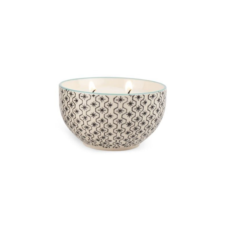 Boheme Hand Painted Candle - Earl Grey & Lavender