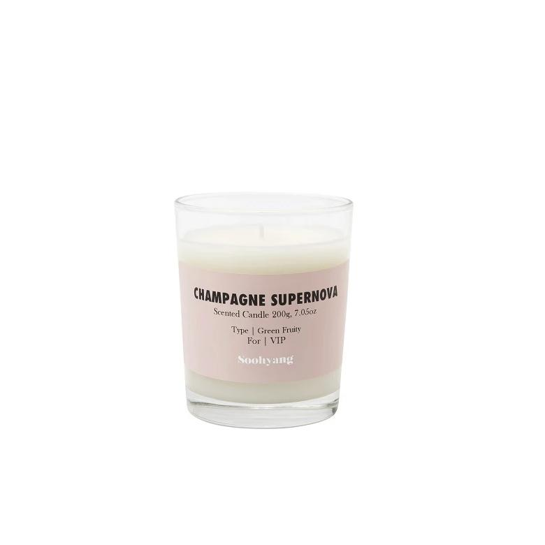 Soohyang Candle - Champagne Supernova - CARLYLE AVENUE