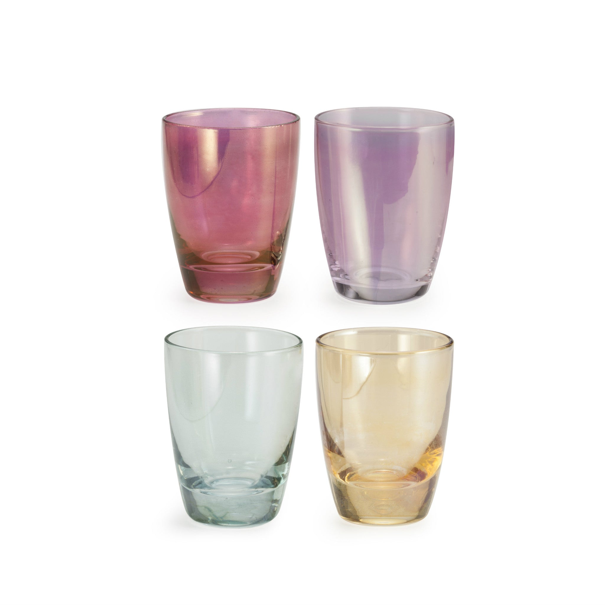 Chez Elle Lustre Shot Glass - Set of 4 - CARLYLE AVENUE