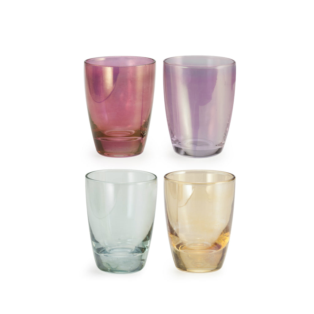Chez Elle Lustre Shot Glass - Set of 4 -  - CARLYLE AVENUE - 1