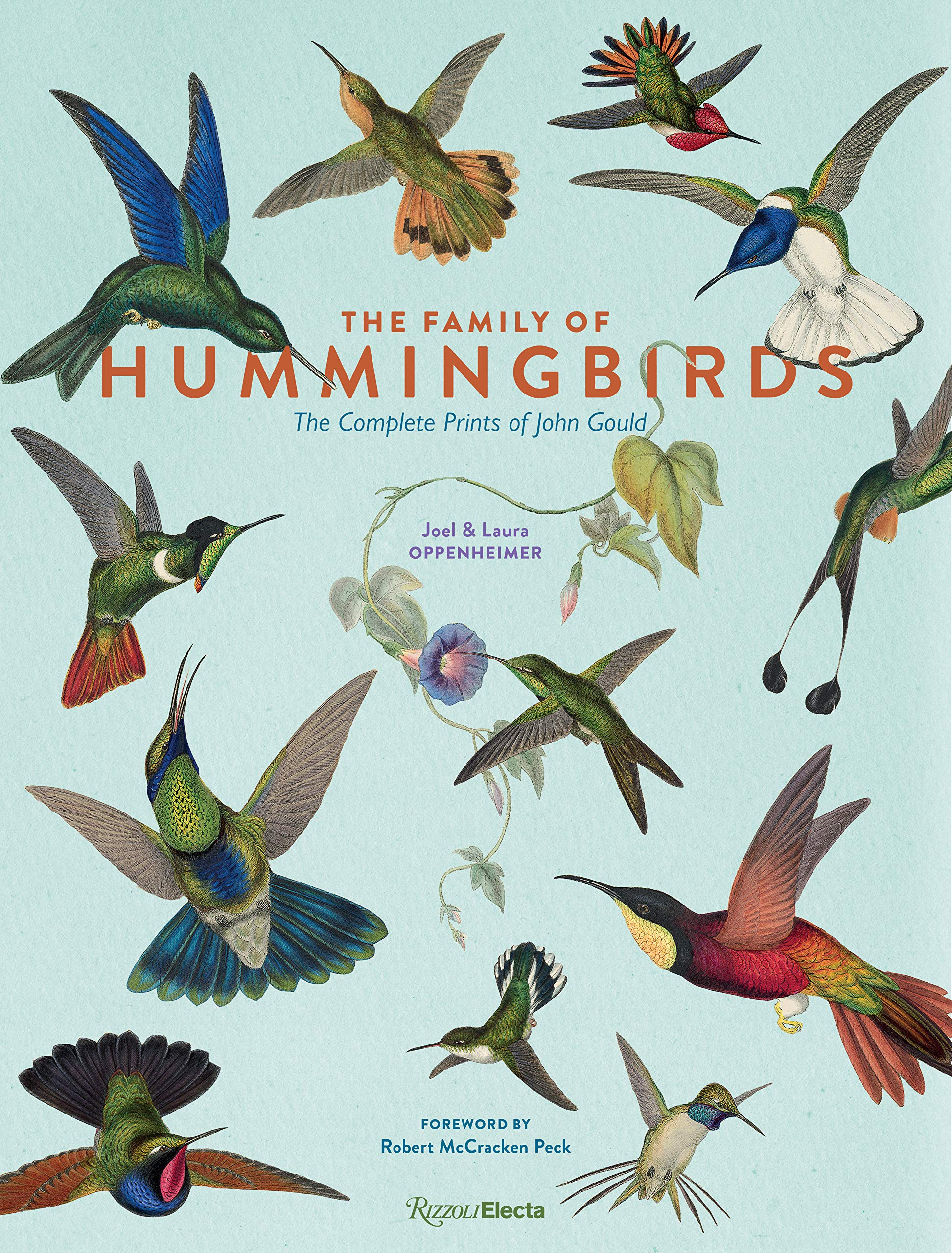 The Family of Hummingbirds: The Complete Prints of John Gould