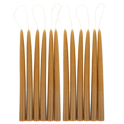 Pair of Taper Candles - Miel - CARLYLE AVENUE