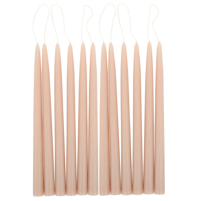 Pair of Taper Candles - Petal - CARLYLE AVENUE