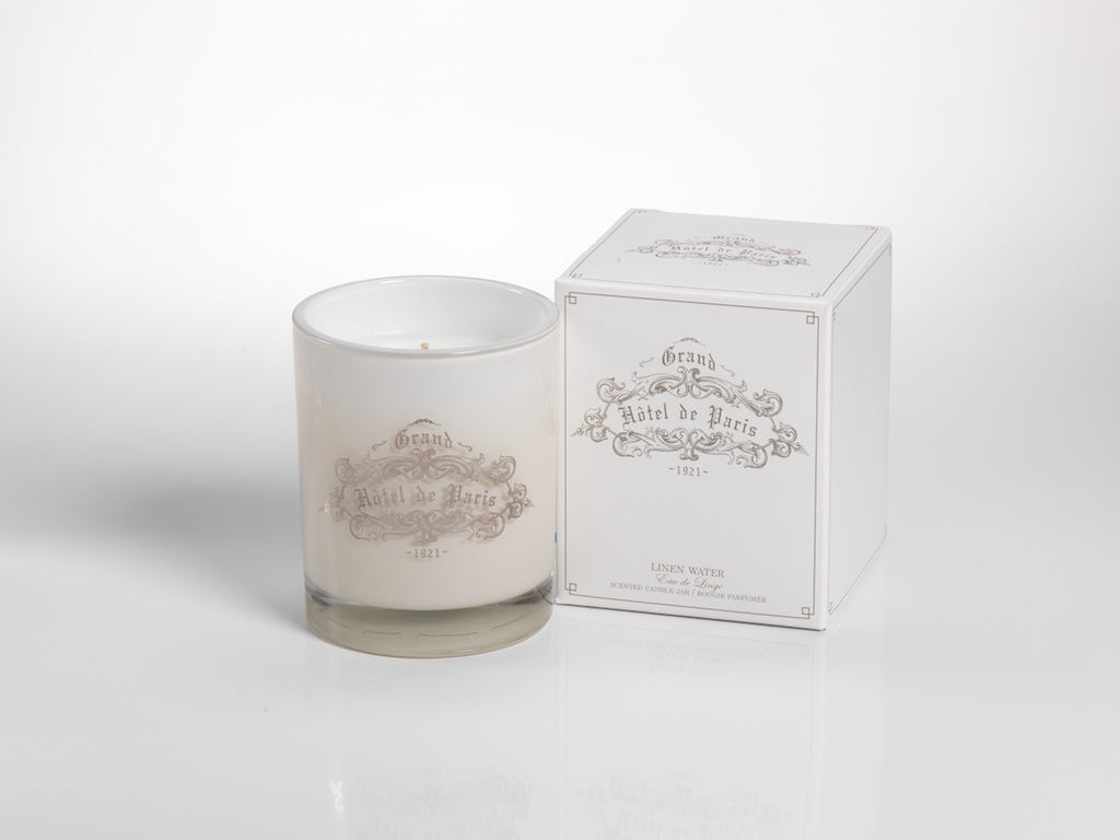 Paris Hotel Candles - Small - Linen Water - CARLYLE AVENUE - 6