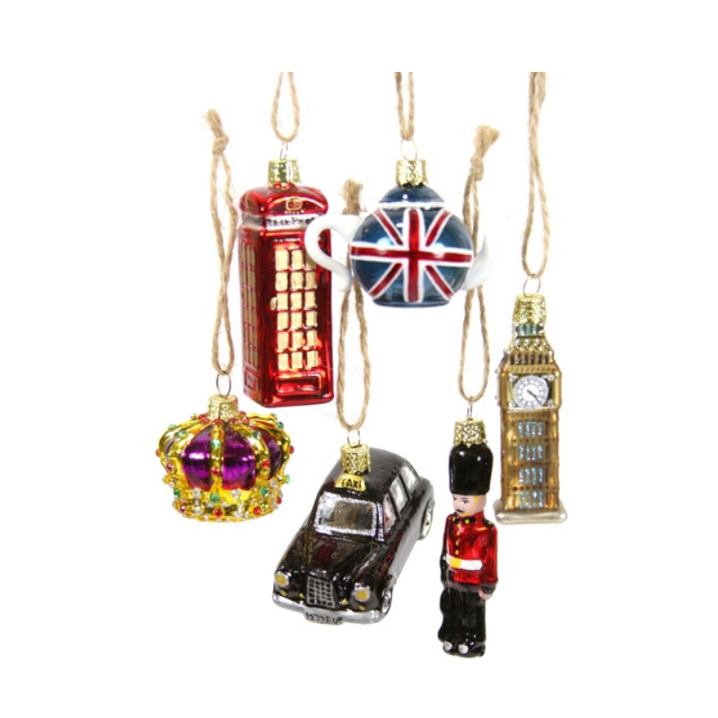 Tiny London Assortment - Set of 6