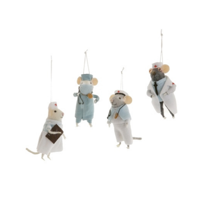 Medical Mice - Set of 4