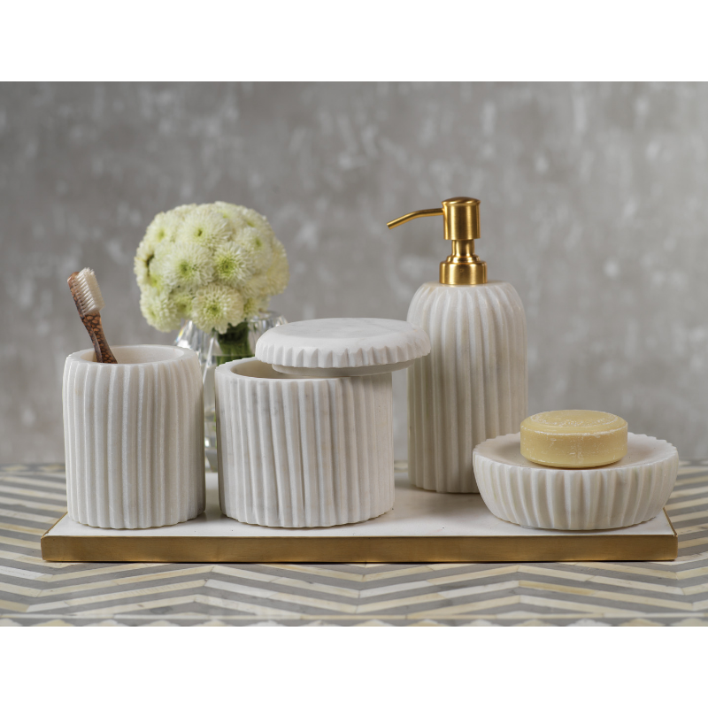 Marmo Marble Vanity Set - CARLYLE AVENUE