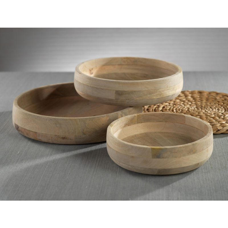 Tokima Natural Mango Wood Bowl