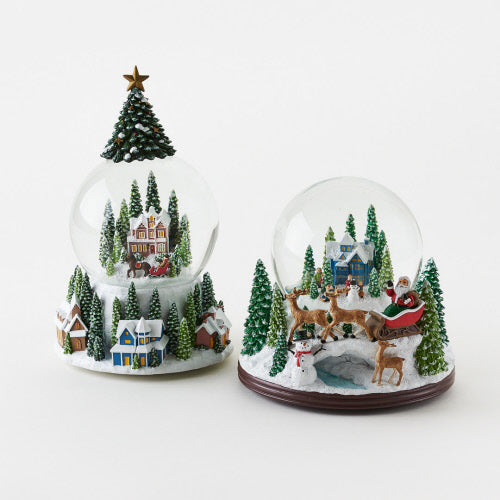 Christmas Musical Water Globe