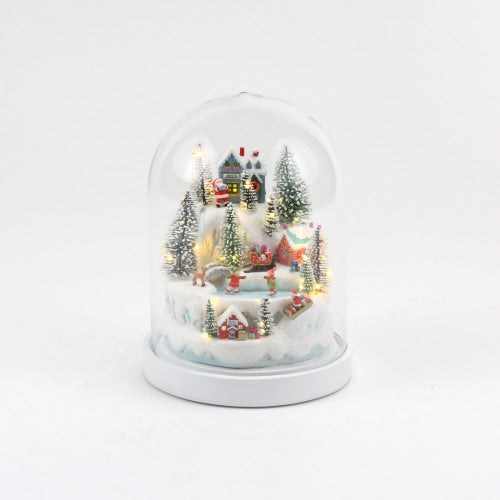 LED Dome Christmas Village